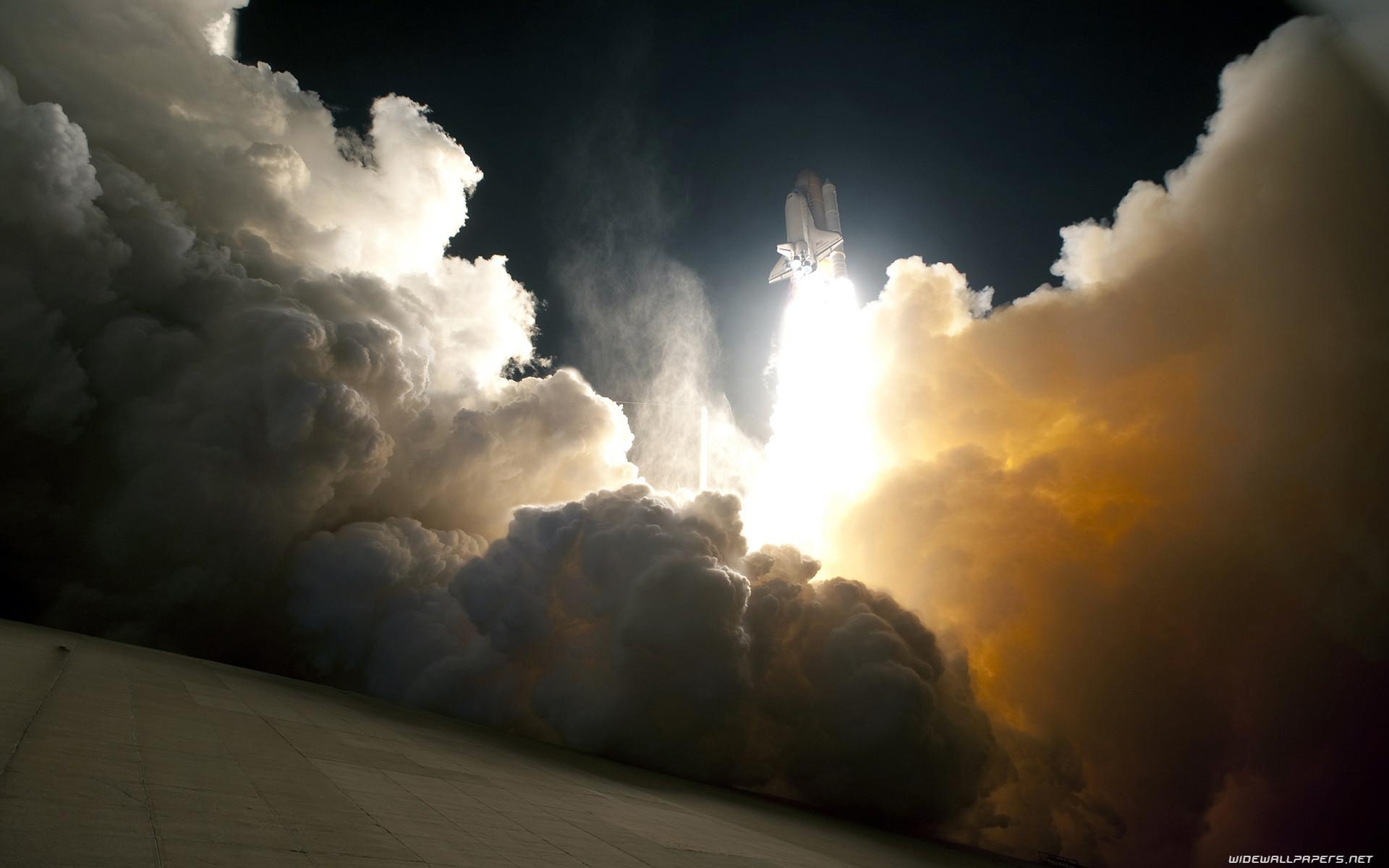 Space rocket start desktop wallpapers