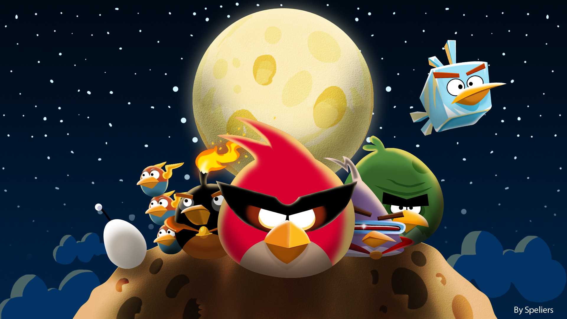Angry Birds Space. swirling meteorites in space hd wallpapers …
