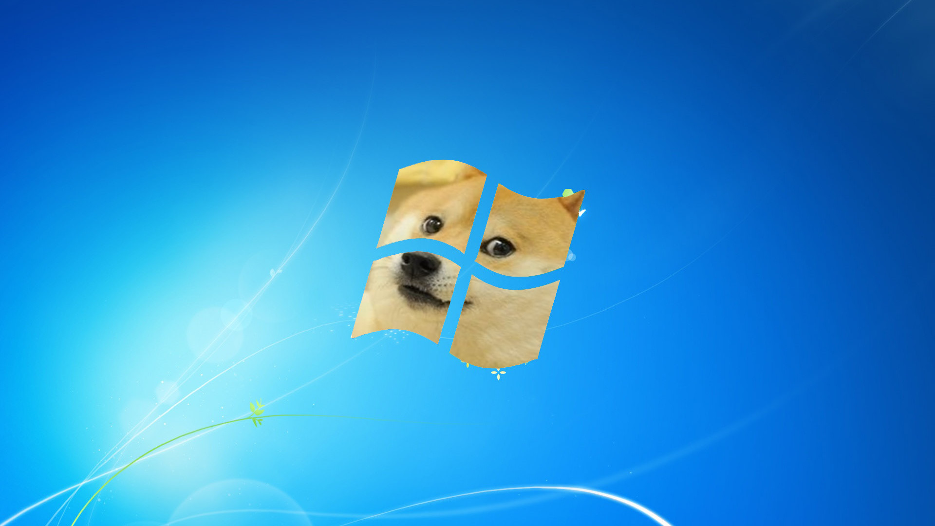 DOGE IS MOON – Doge Wallpaper (2560×1440) (14008)
