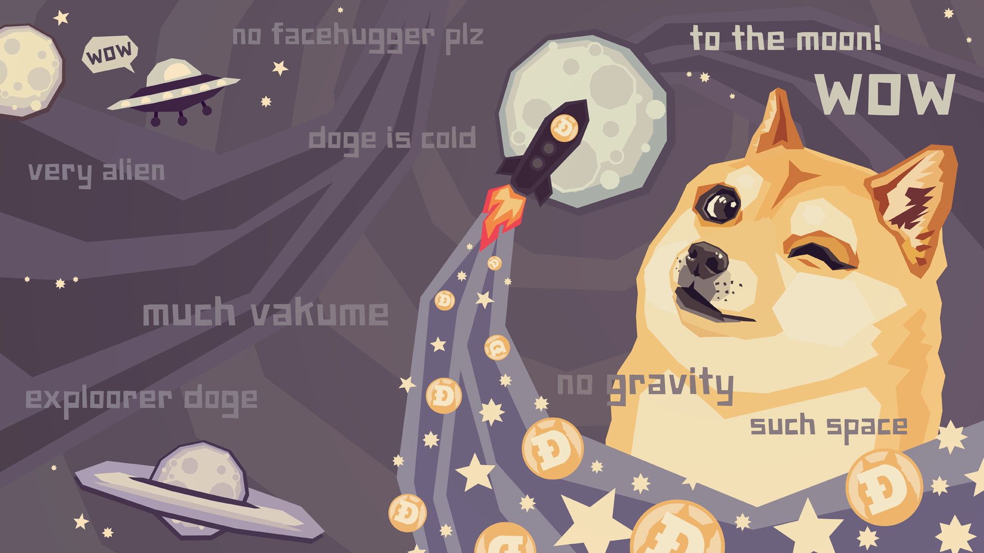 Doge Wallpaper To The