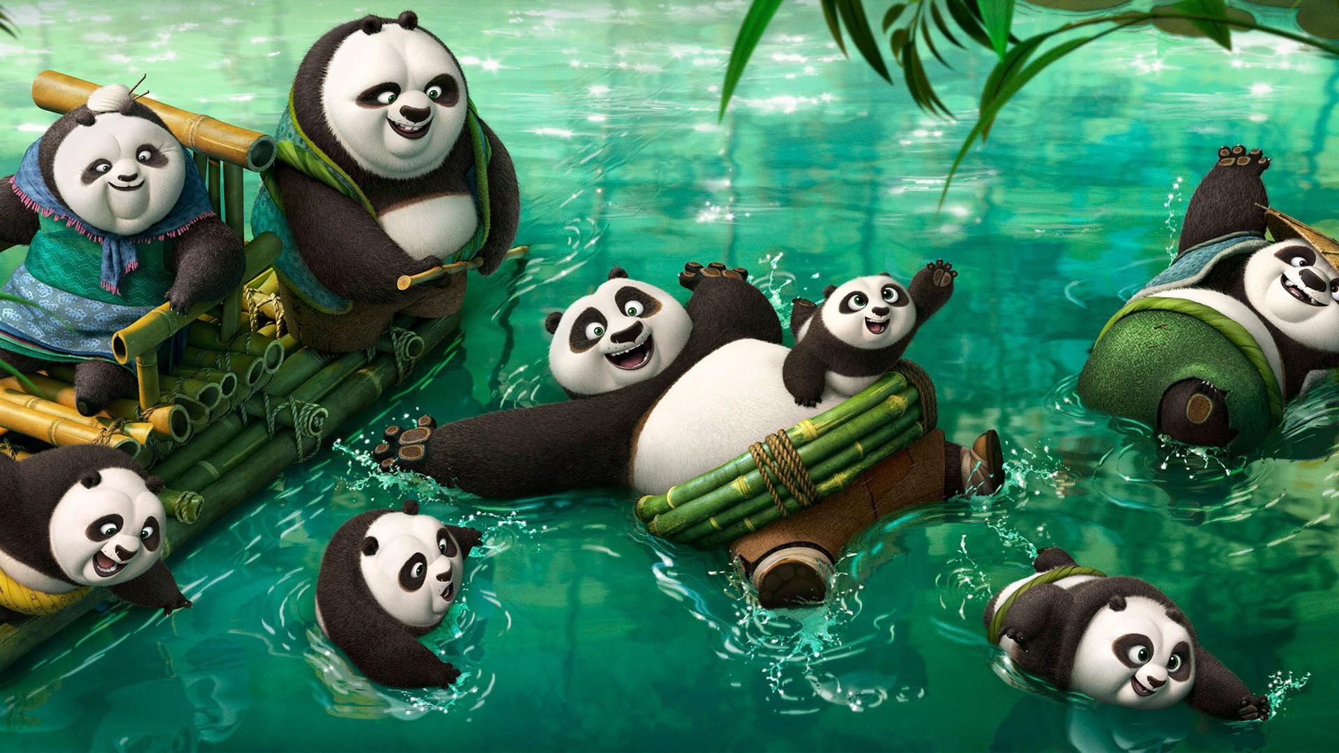 Kung fu Panda 3 New Pandas