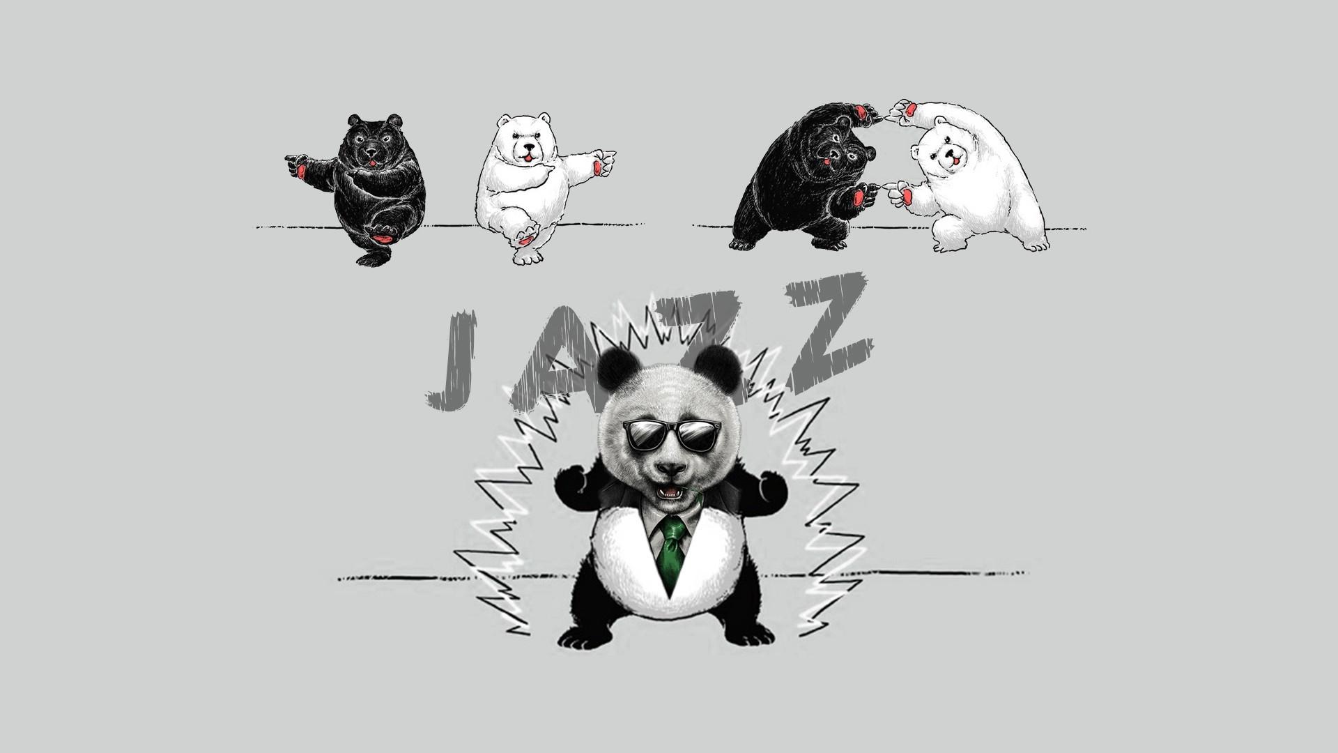 Jazz Panda [1920×1080][original] …