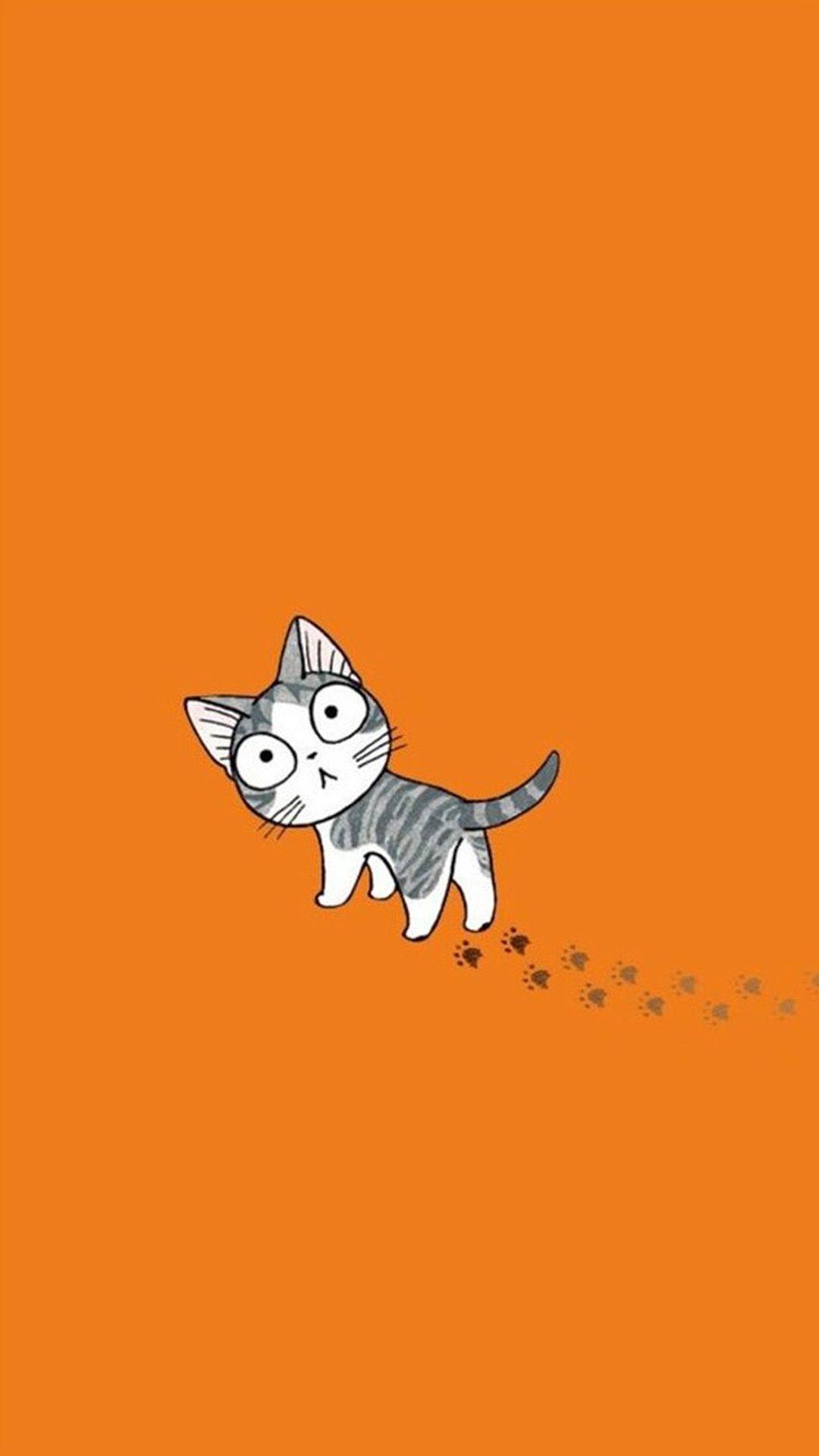 Cute Cat Cartoon 03 Galaxy S5 Wallpapers – PowerballForLife
