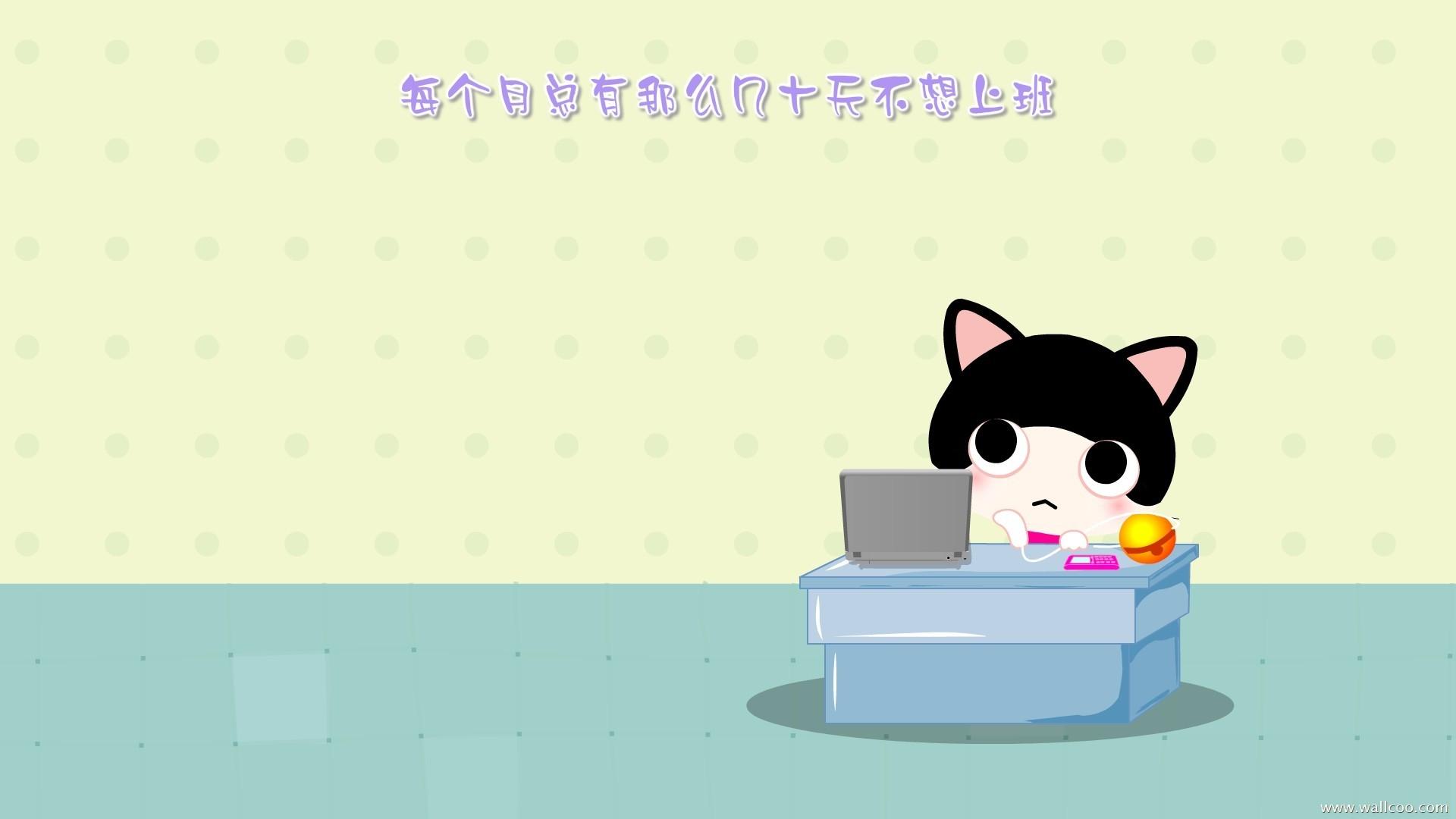 Cute Cartoon Cat Wallpaper : Cool Background HD
