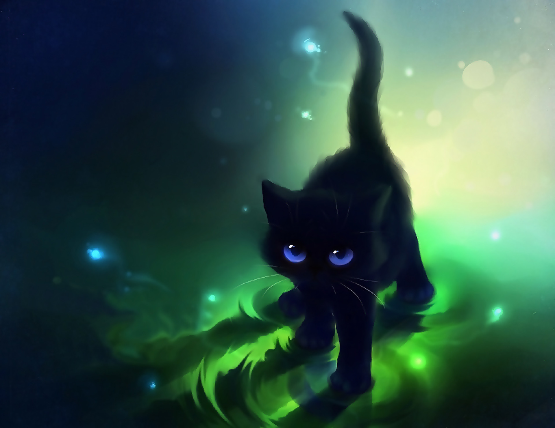 Cat with Green Eyes you tube | black cats with green eyes wallpaper