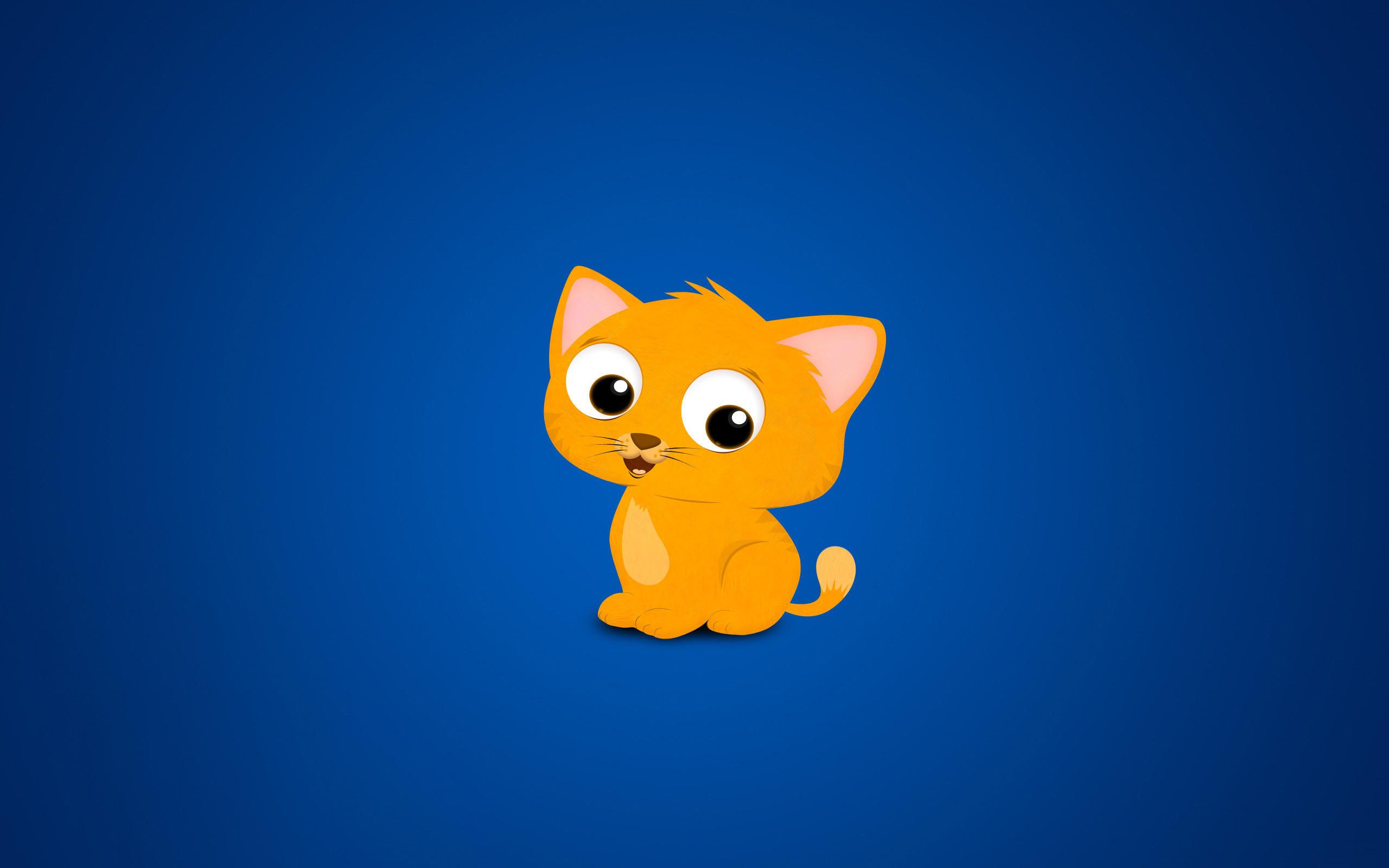 CUte Kitten Cartoon #6950096