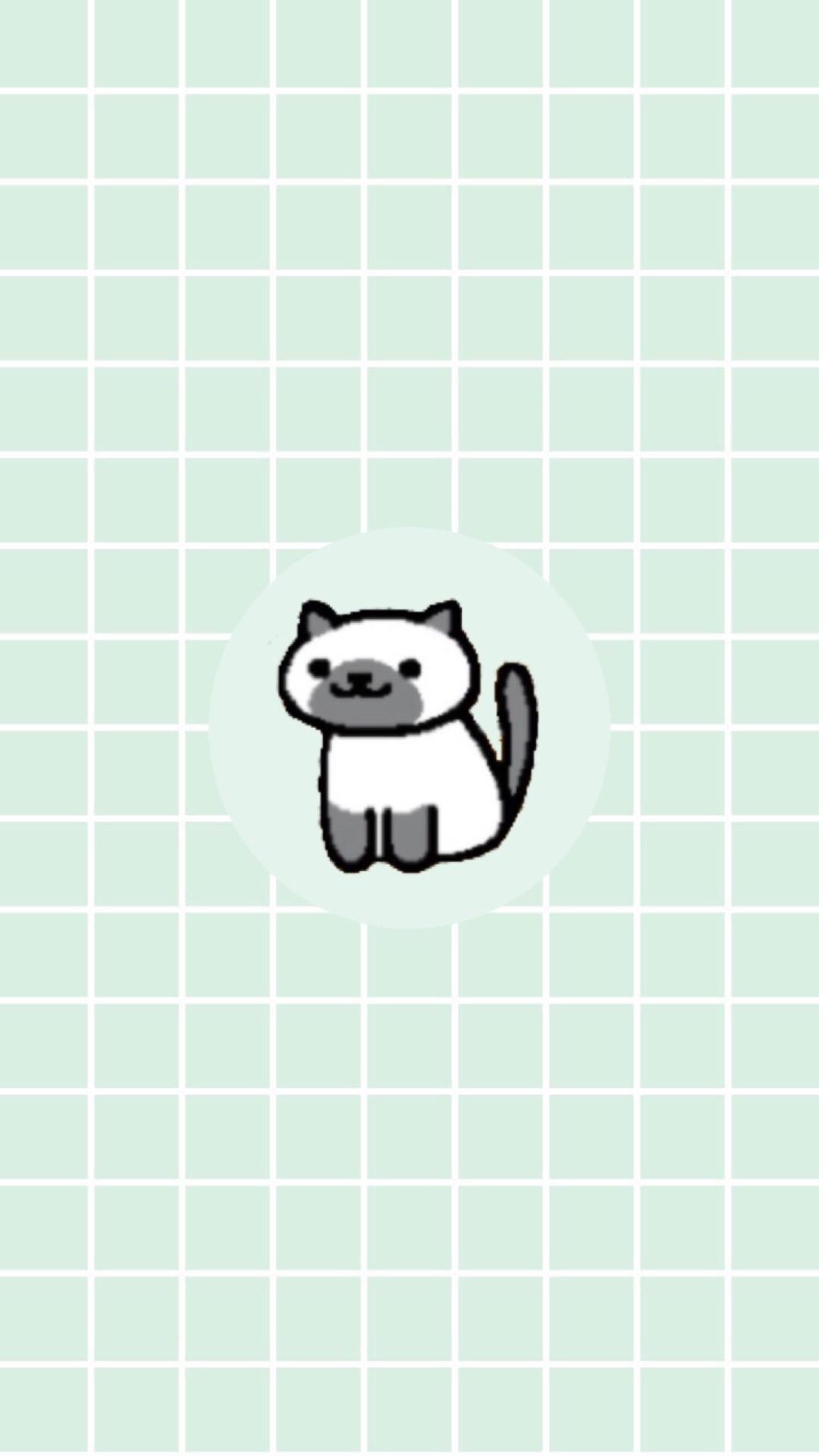 Cute Neko Atsume. Tap to see more Neko Atsume the cat wallpapers,  backgrounds,