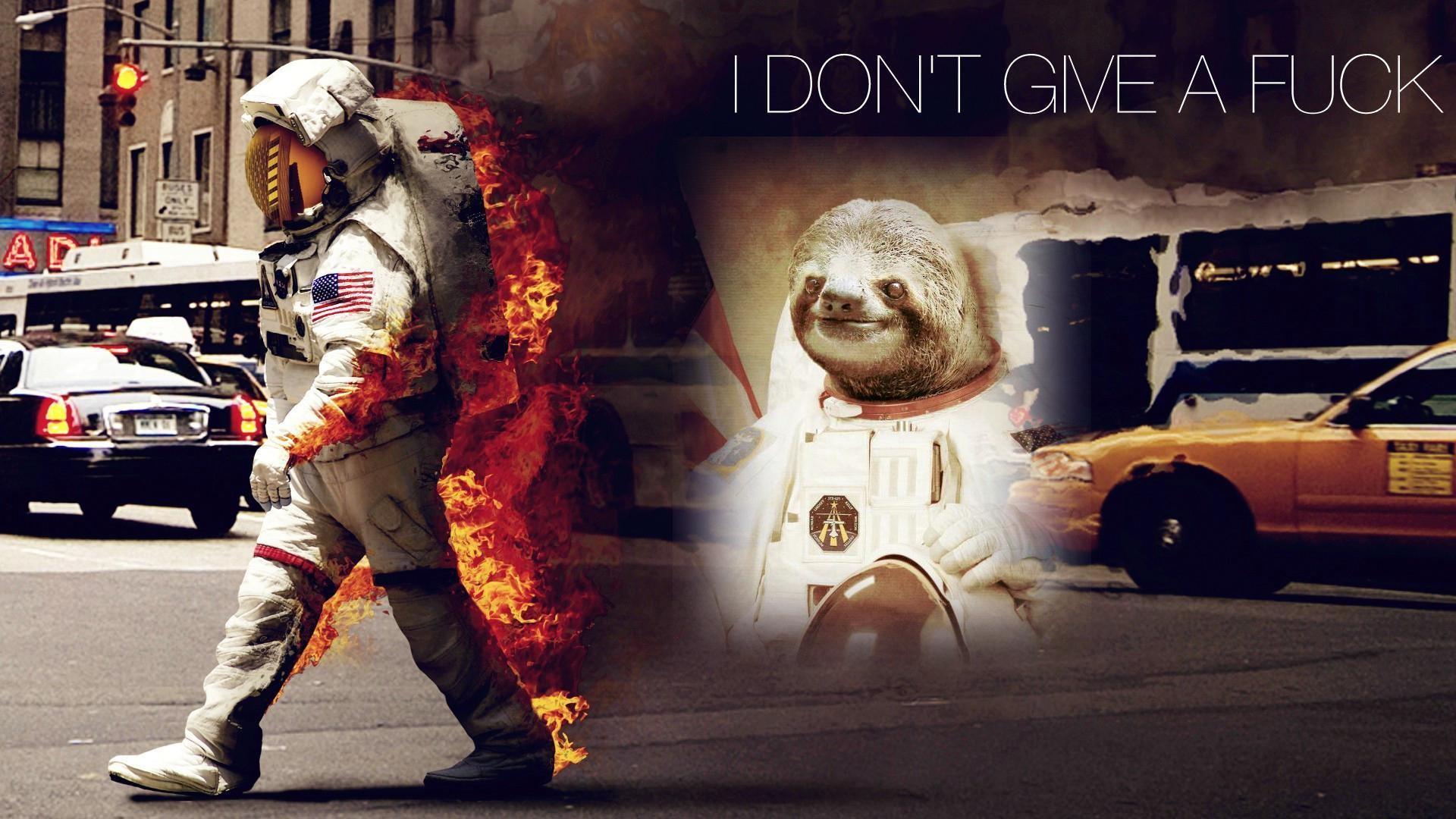 [Image – 437694] | Astronaut Sloth | Know Your Meme