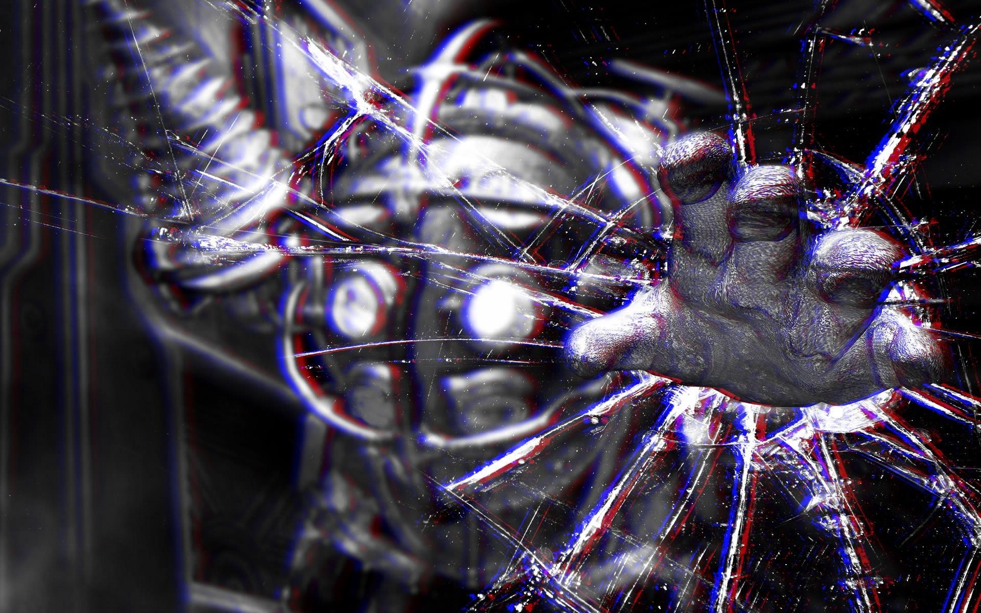 anaglyph 3D Wallpaper HD