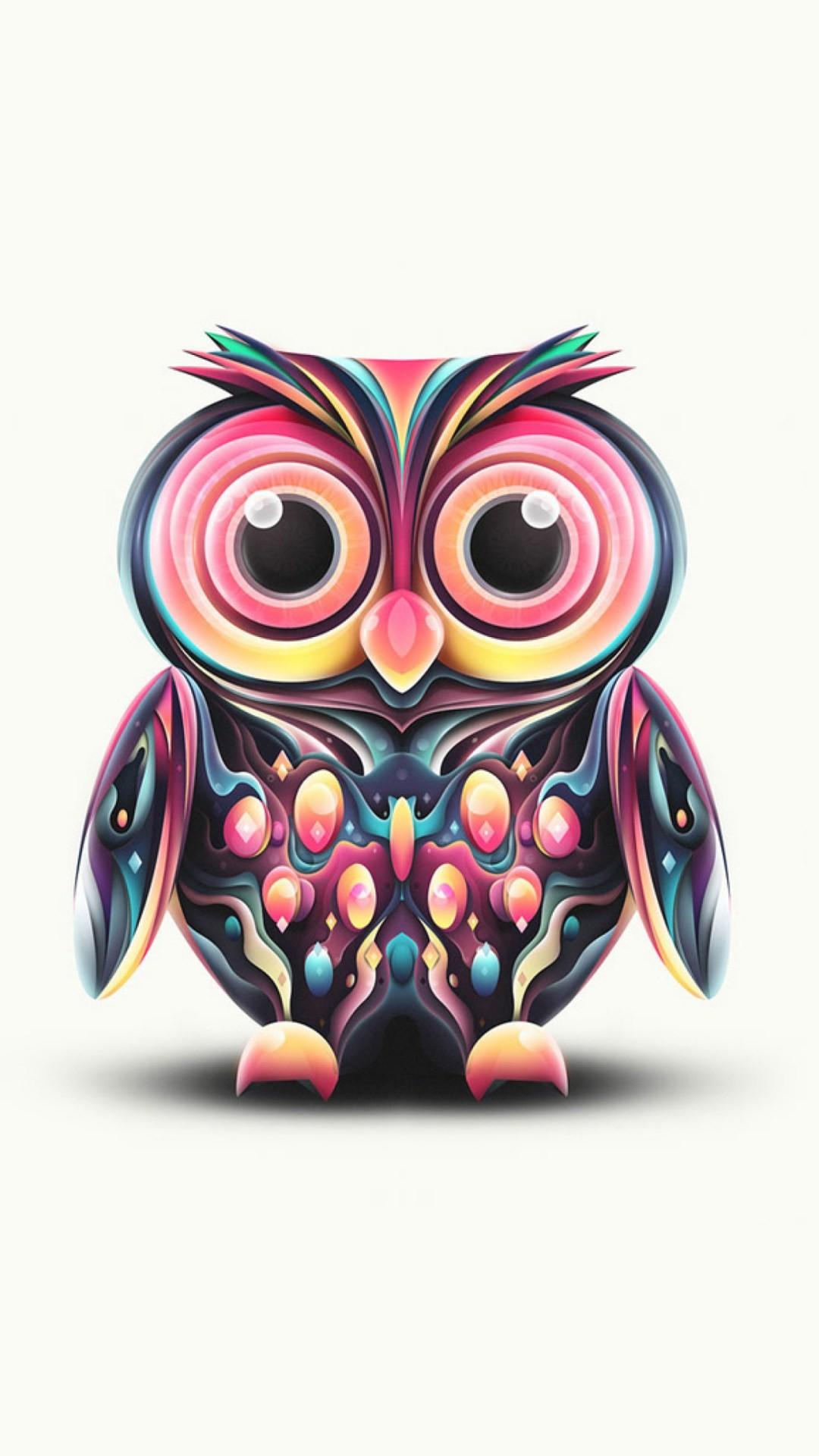 Hd Cute Owl Wallpaper For Android Pixelstalk Net