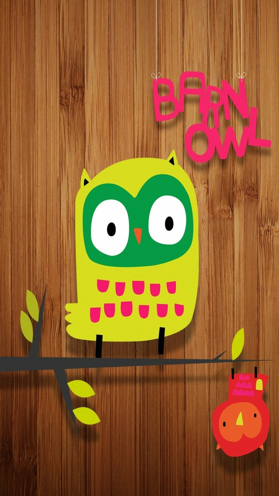 Funny Cute Owl for Android 1080×1920.