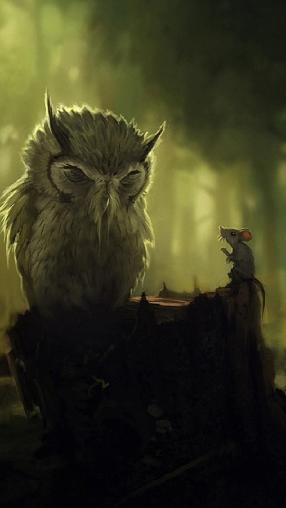 wallpaper.wiki-Cute-Owl-Wallpaper-Widescreen-for-Android-