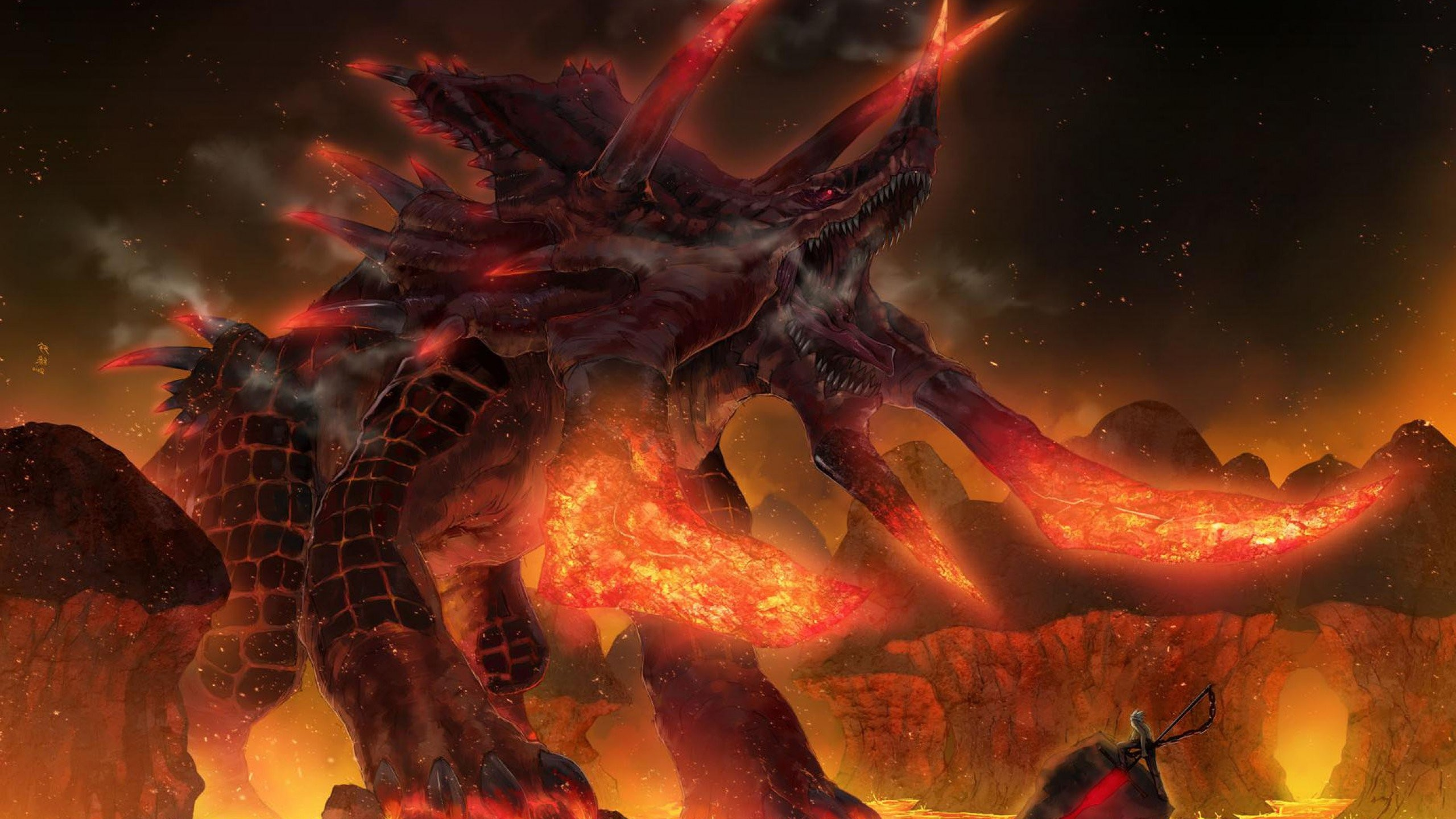 Fire Demon Wallpaper Full Hd …