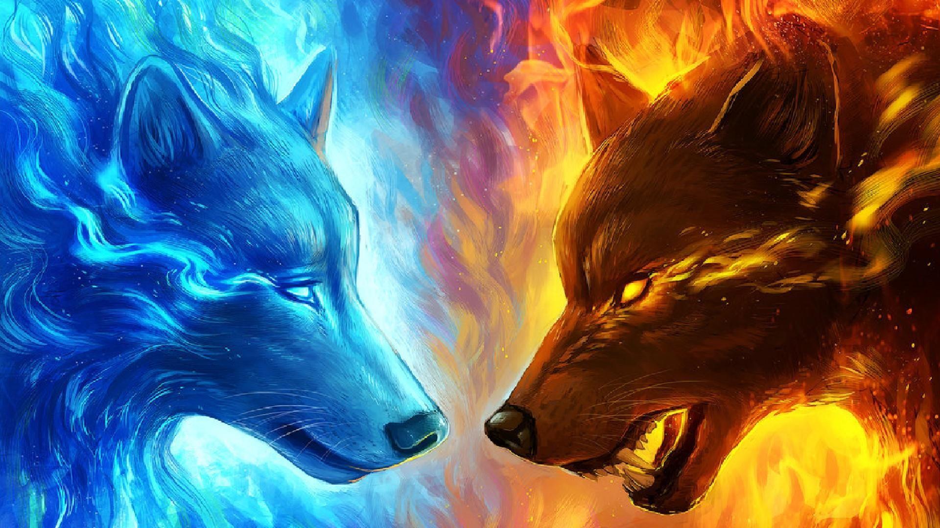 Fantasy – Wolf Wallpaper