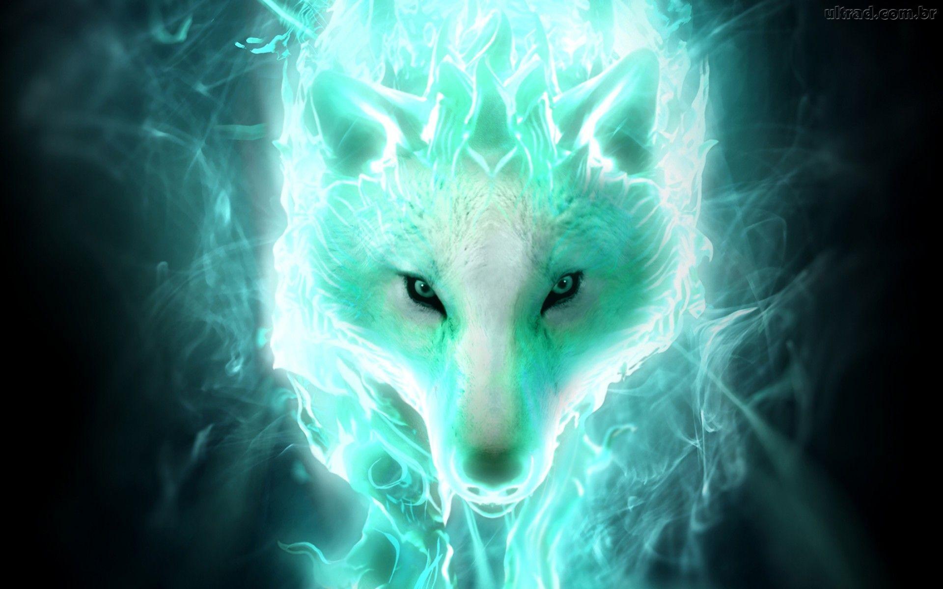 Fantasy – Wolf Spirit Wallpaper