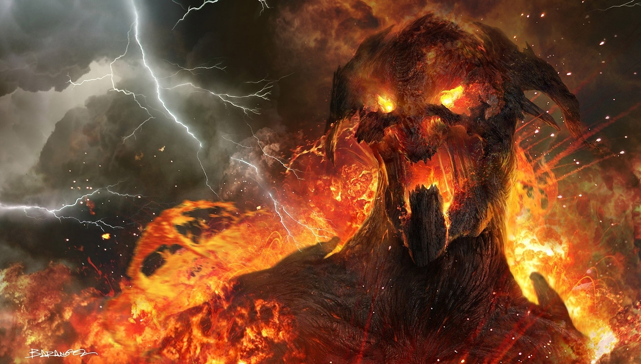 Fire Demon Wallpapers Mobile …