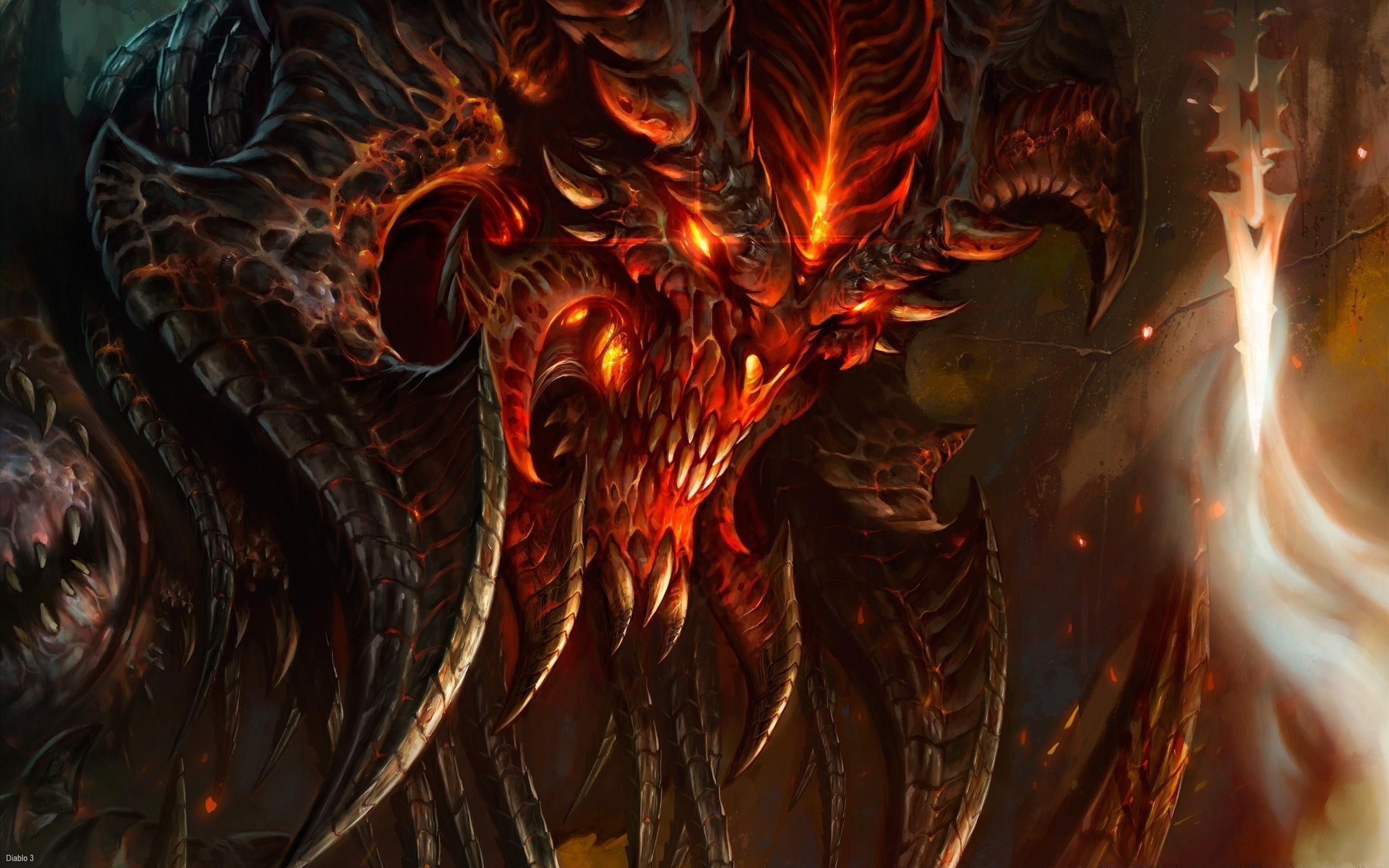 Fire Demon Wallpaper For Iphone …
