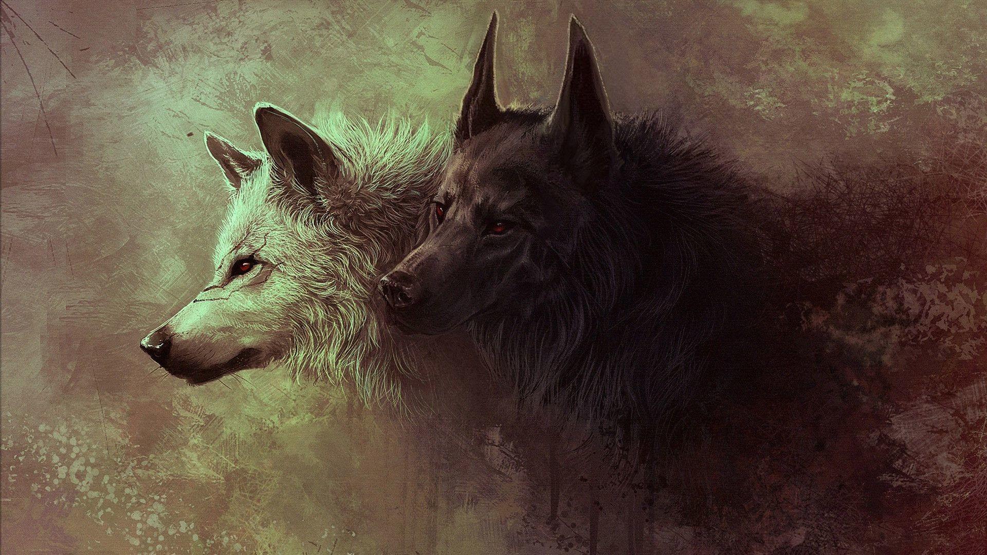 … animals wallpaper hd black wolf wallpaper full hd at bozhuwallpaper …