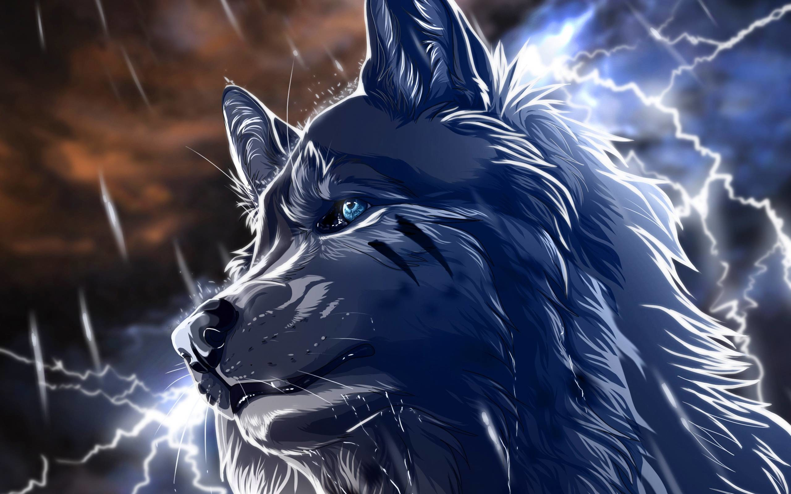 Anime wolf Wallpapers   Pictures