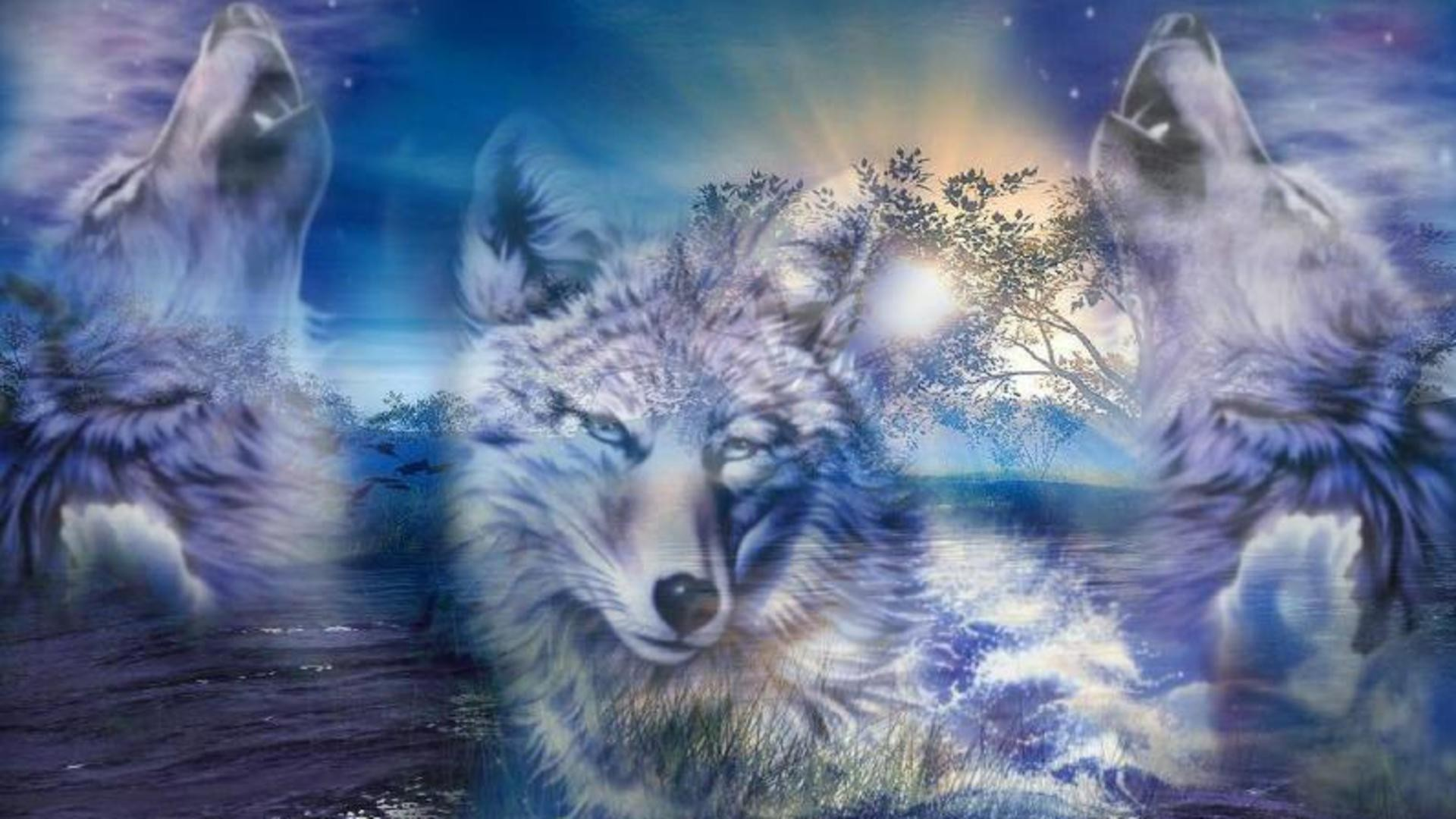 Wolves Wallpaper Free