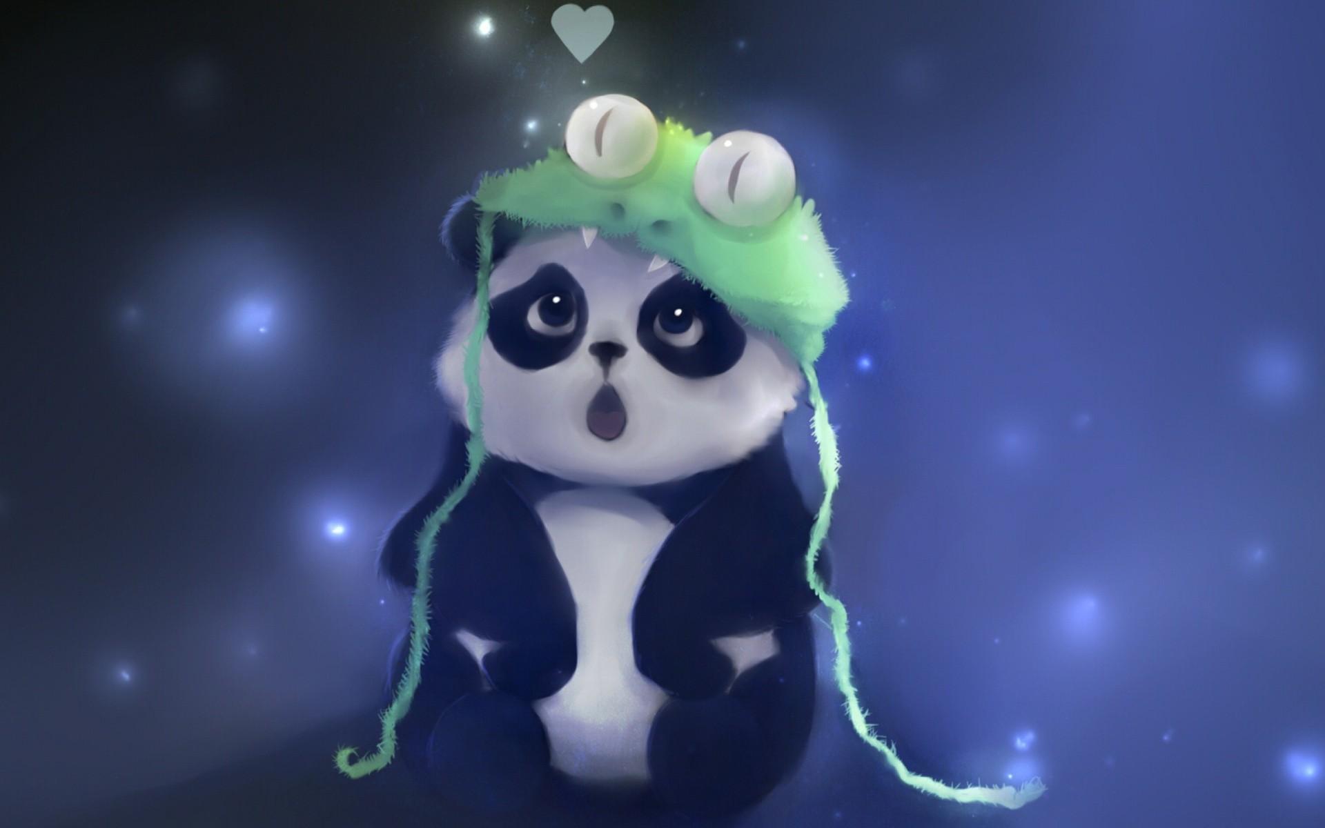 cute baby panda painting 1920×1200 baby panda wallpaper | Free Images