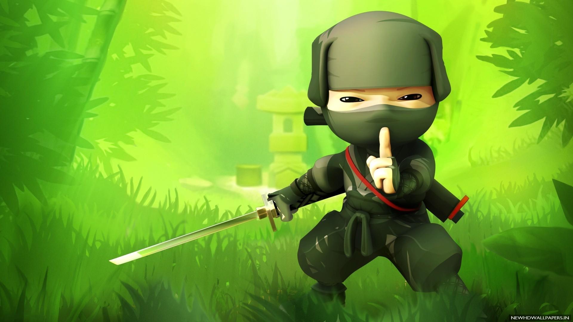 Ninja Cartoon Wallpapers | WallpapersIn4k.net
