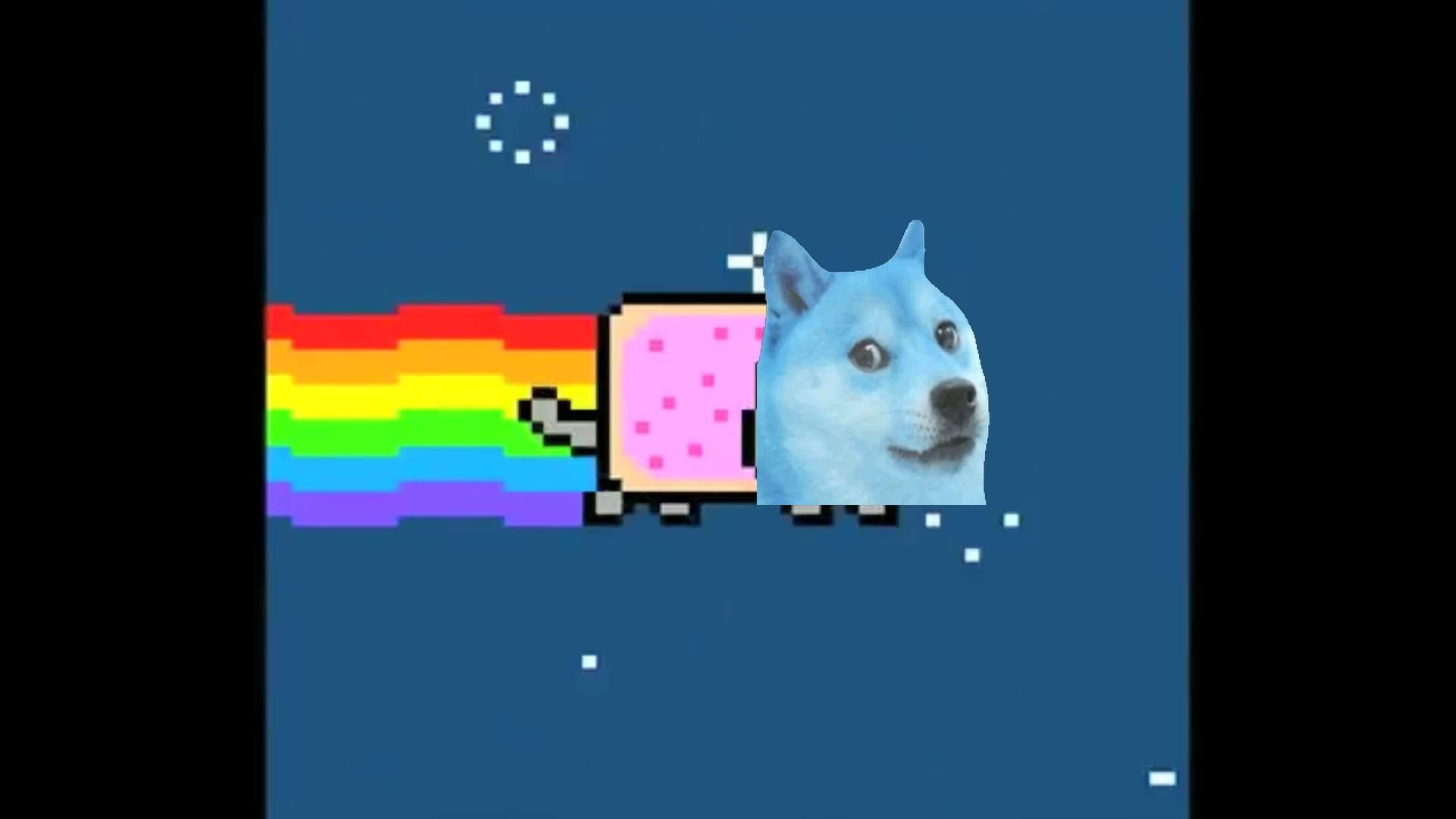 Nyan Space Doge