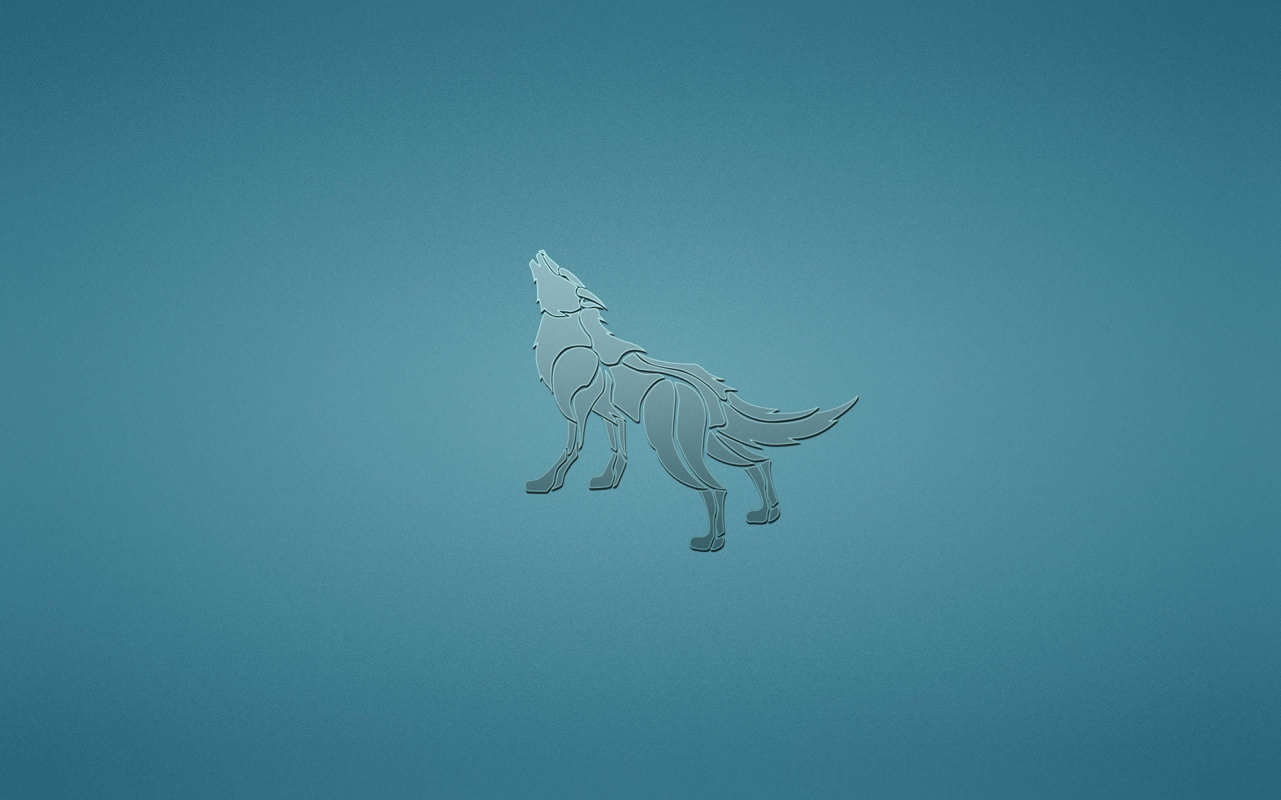 Wolf wolves predator carnivore minimal minimalism d .