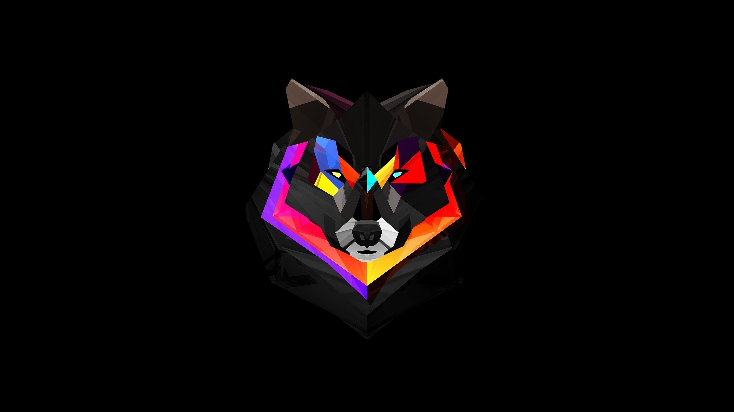 General abstract wolf