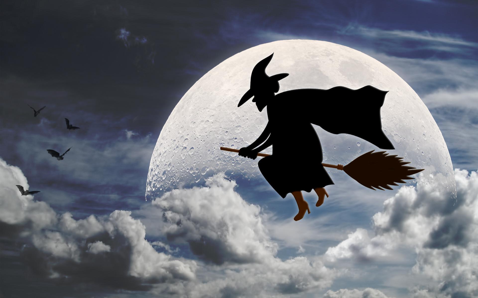 Halloween-Broom-Stick-Witch-HD-Wallpaper