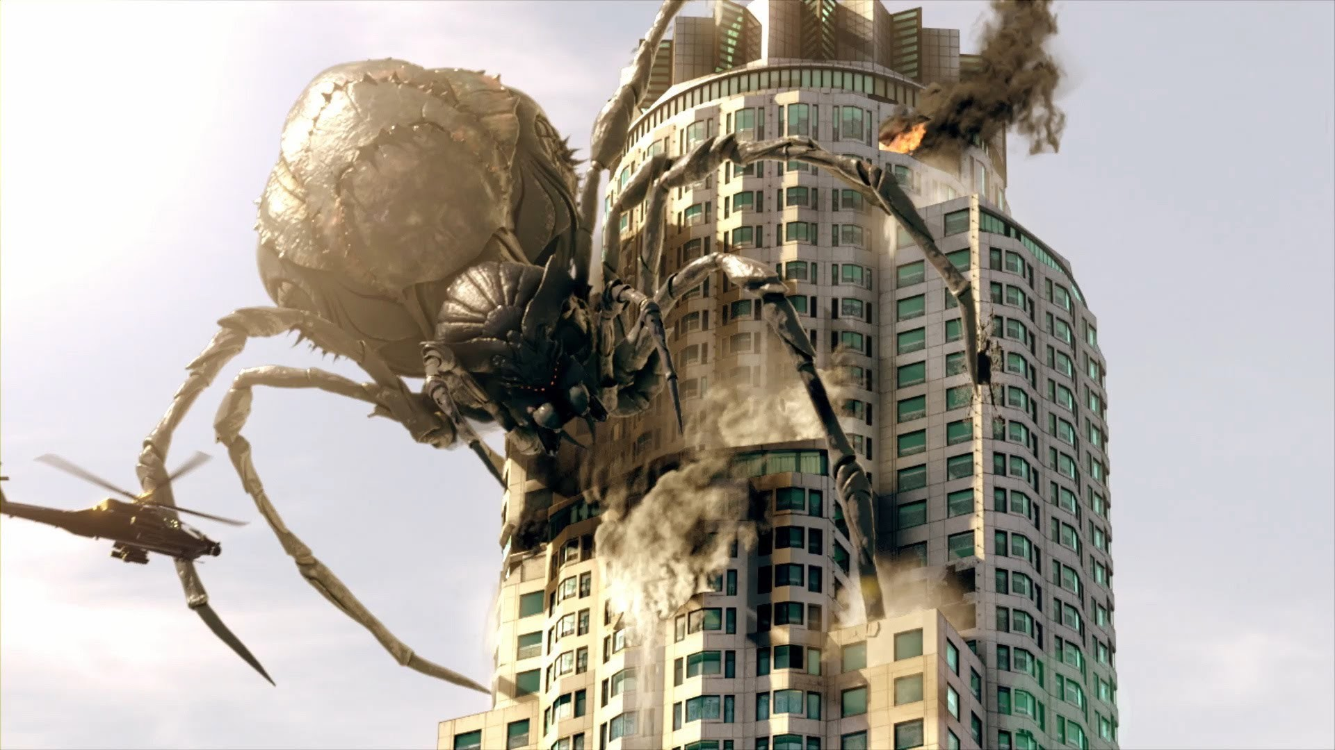 The giant spider movie has had a bumpy ride over the years. I think the  problem is that if you try to make a scary spider film then people who are  scared …