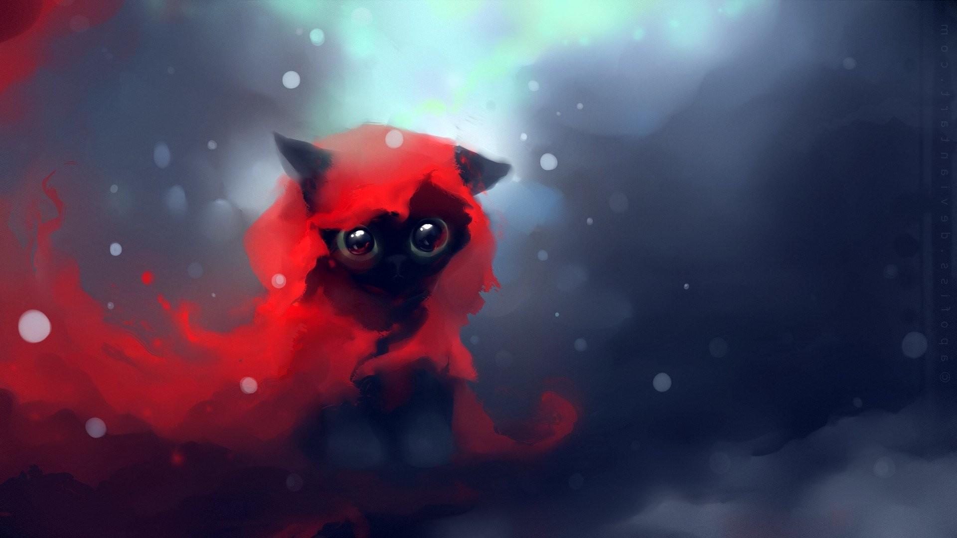 Image – Cat-apofiss-cute-black-speed-painting-wallpaper -cartoon-kittens-heart-anime-original-images-touching-cuties.jpg   Animal  Jam Clans Wiki   FANDOM …