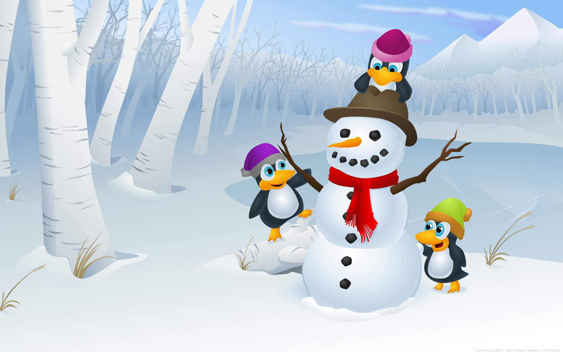 Cute Christmas HD Backgrounds.