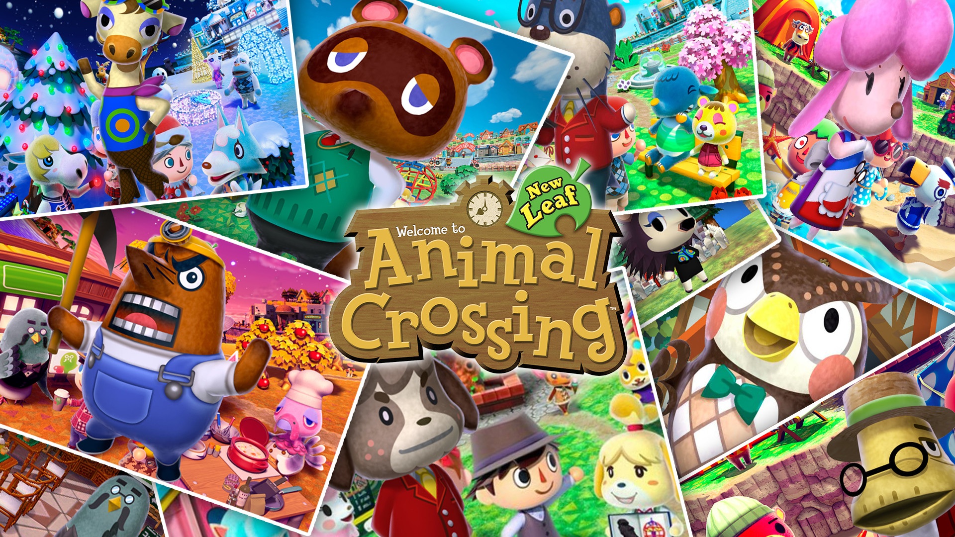image Animal Crossing New PC, Android, iPhone and iPad. Wallpapers .
