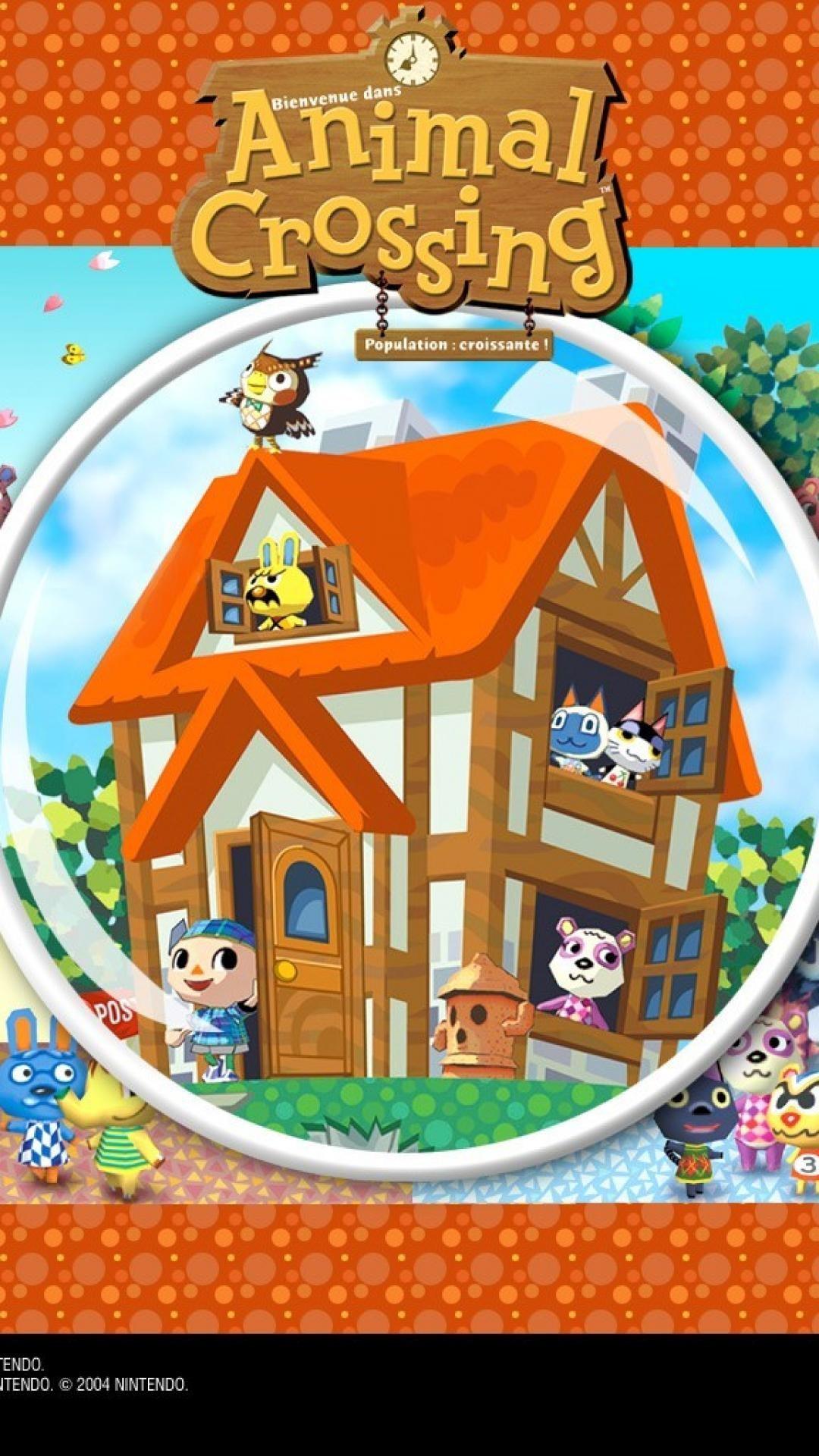 Nintendo gamecube animal crossing wallpaper   (35030)
