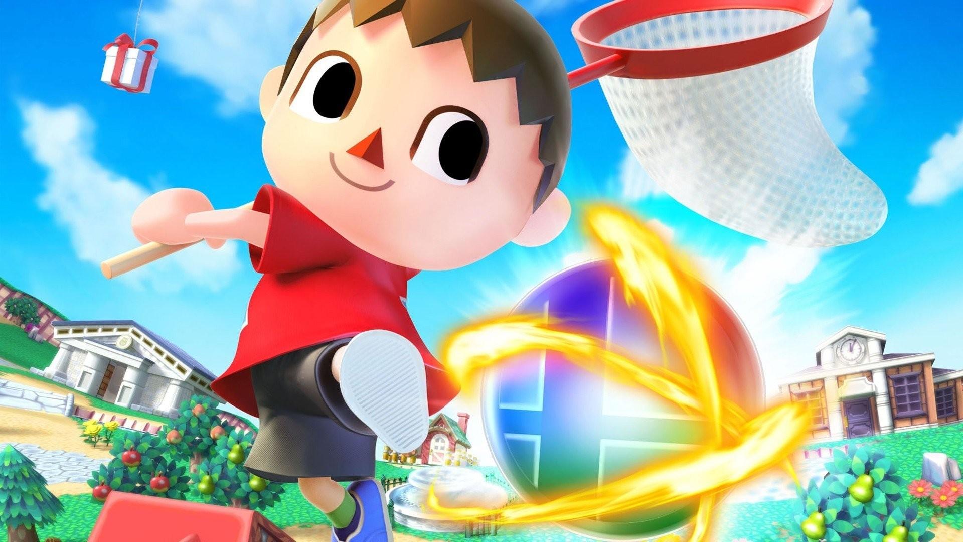 Villager Smash Bros