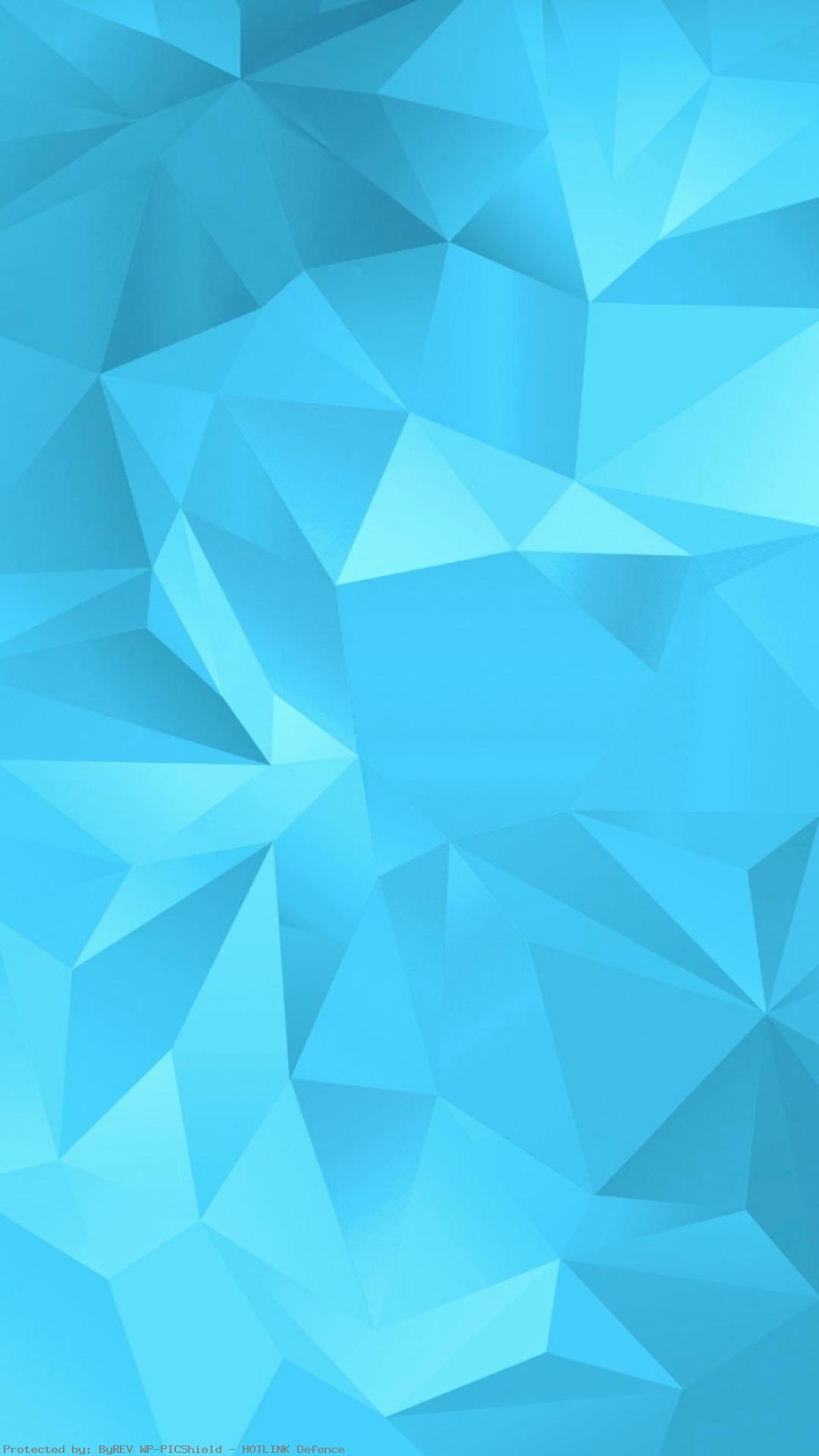 Simple-Blue-Fold-Polygon-Pattern-iPhone-plus-wallpaper-
