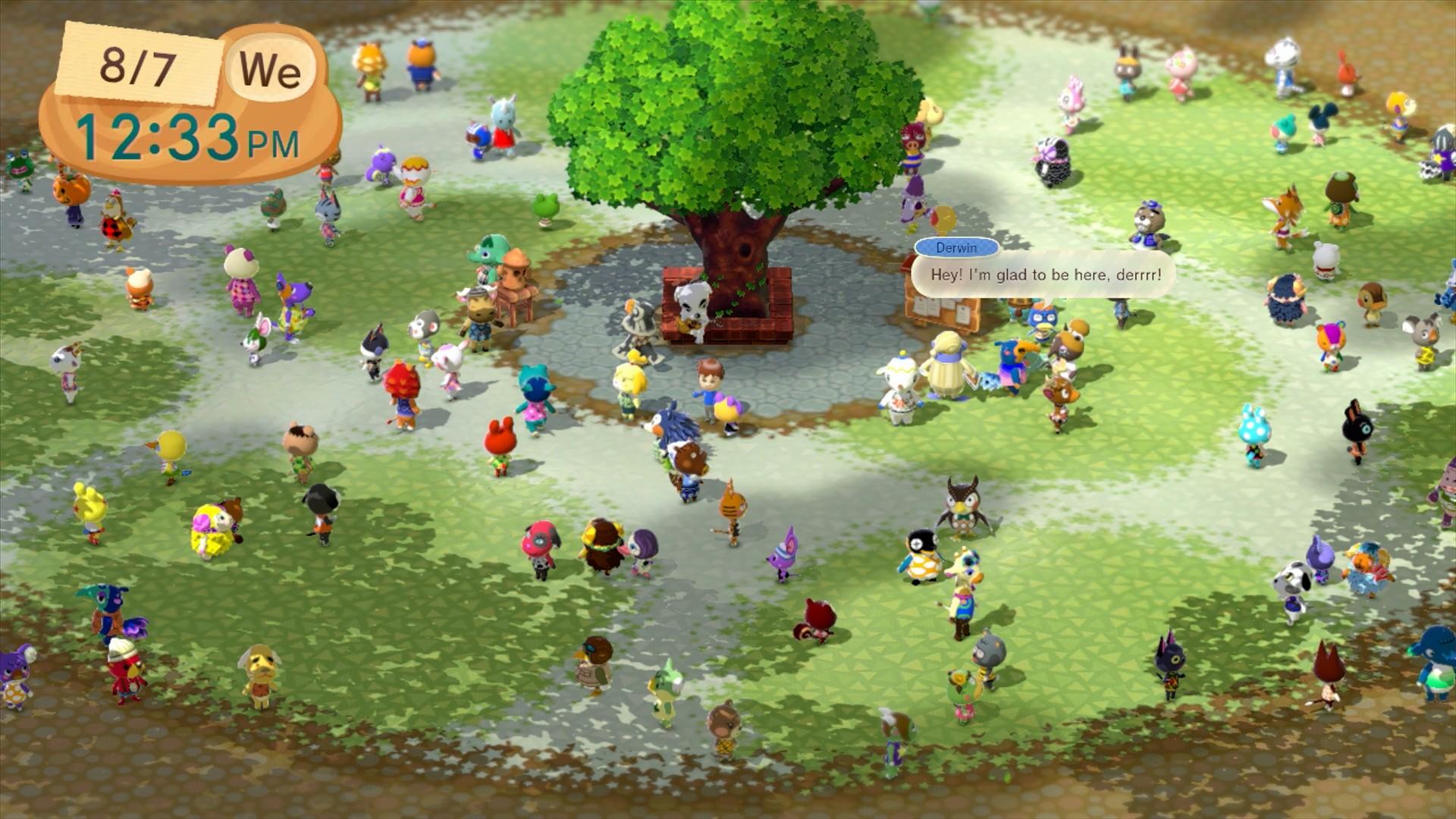 Animal Crossing Plaza for Wii U