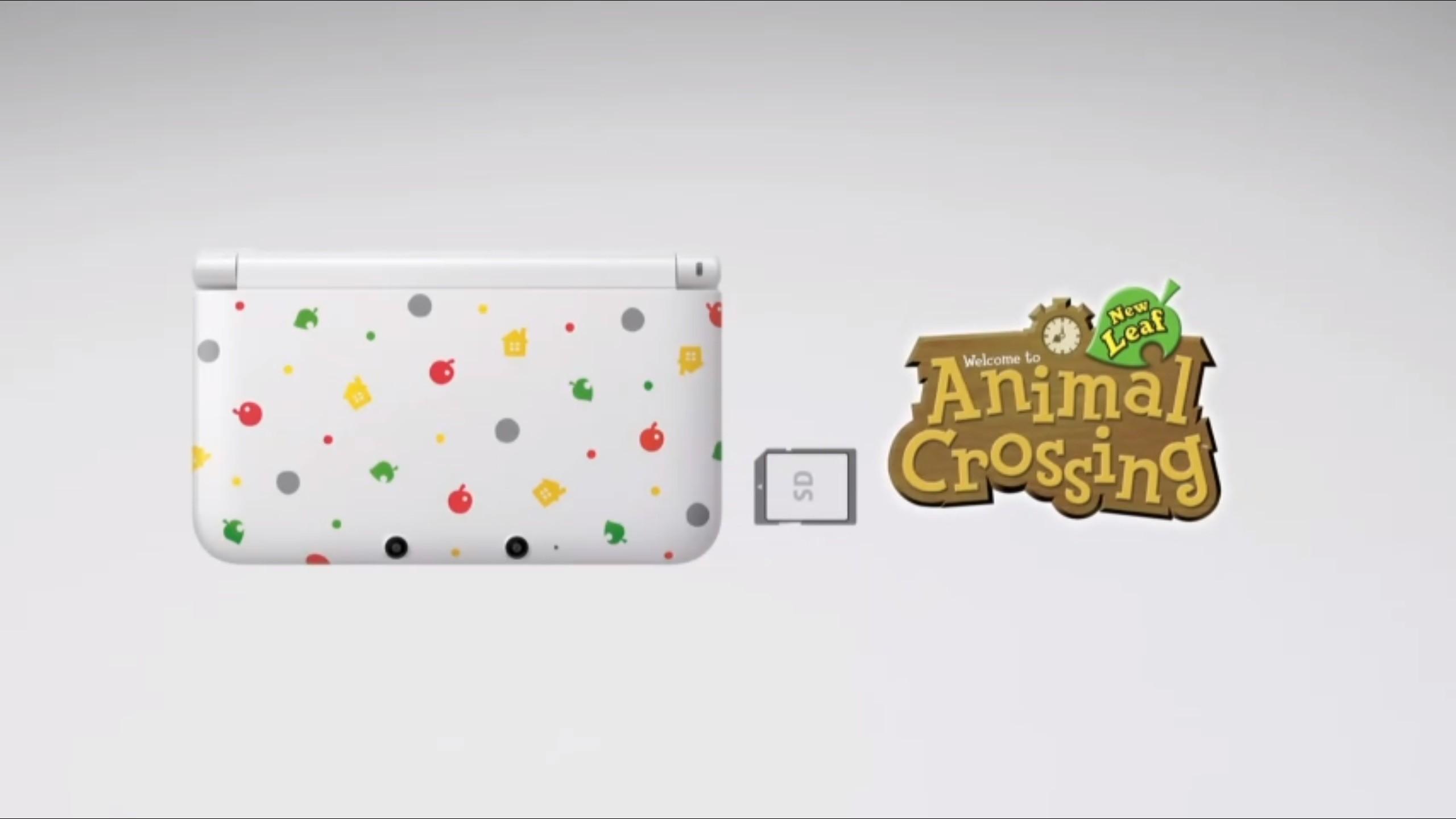 Animal Crossing 3Ds XL- Nintendo Direct