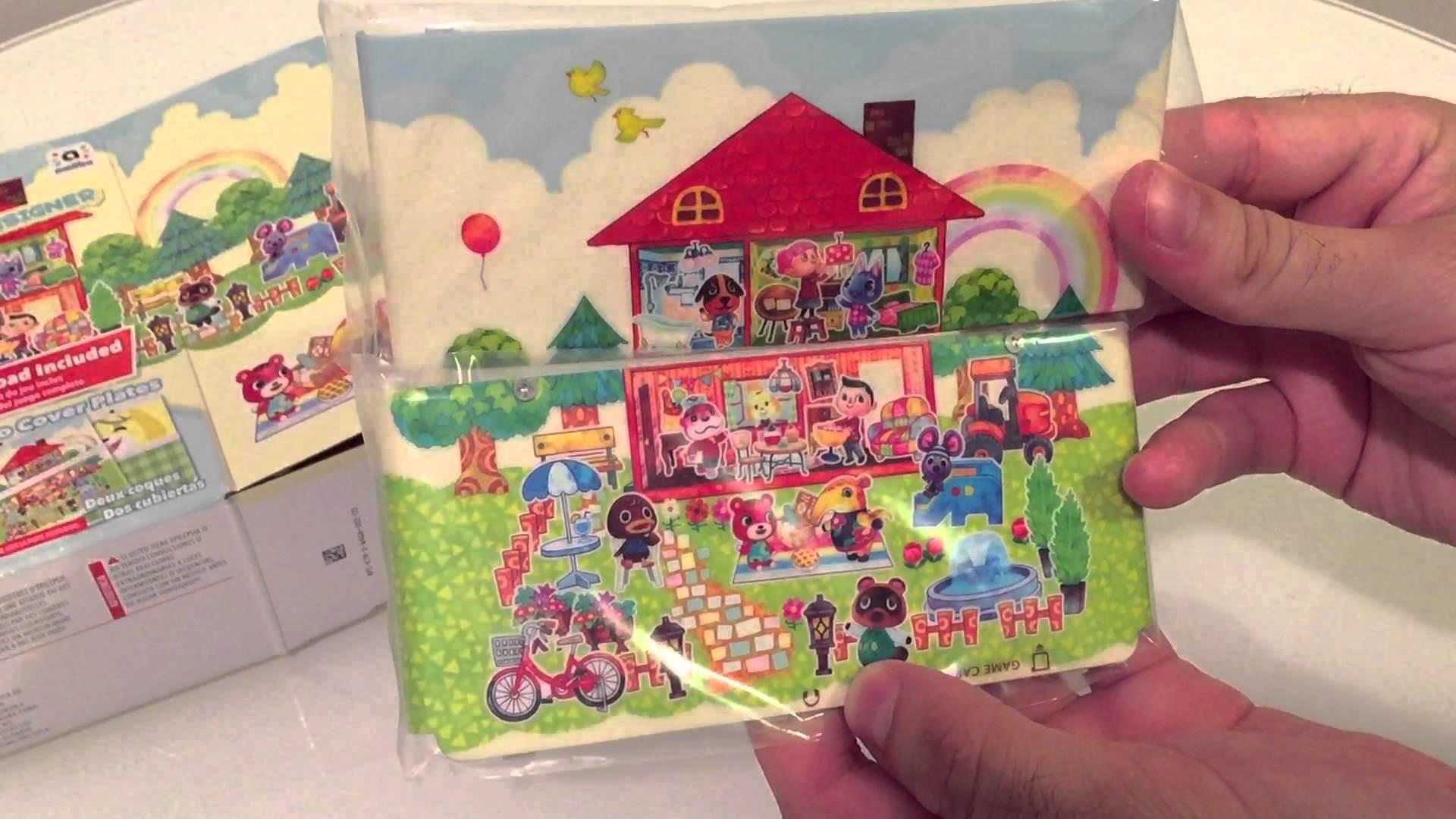 Nintendo New 3DS (Standard) Animal Crossing: Happy Home Designer Bundle  Unboxing