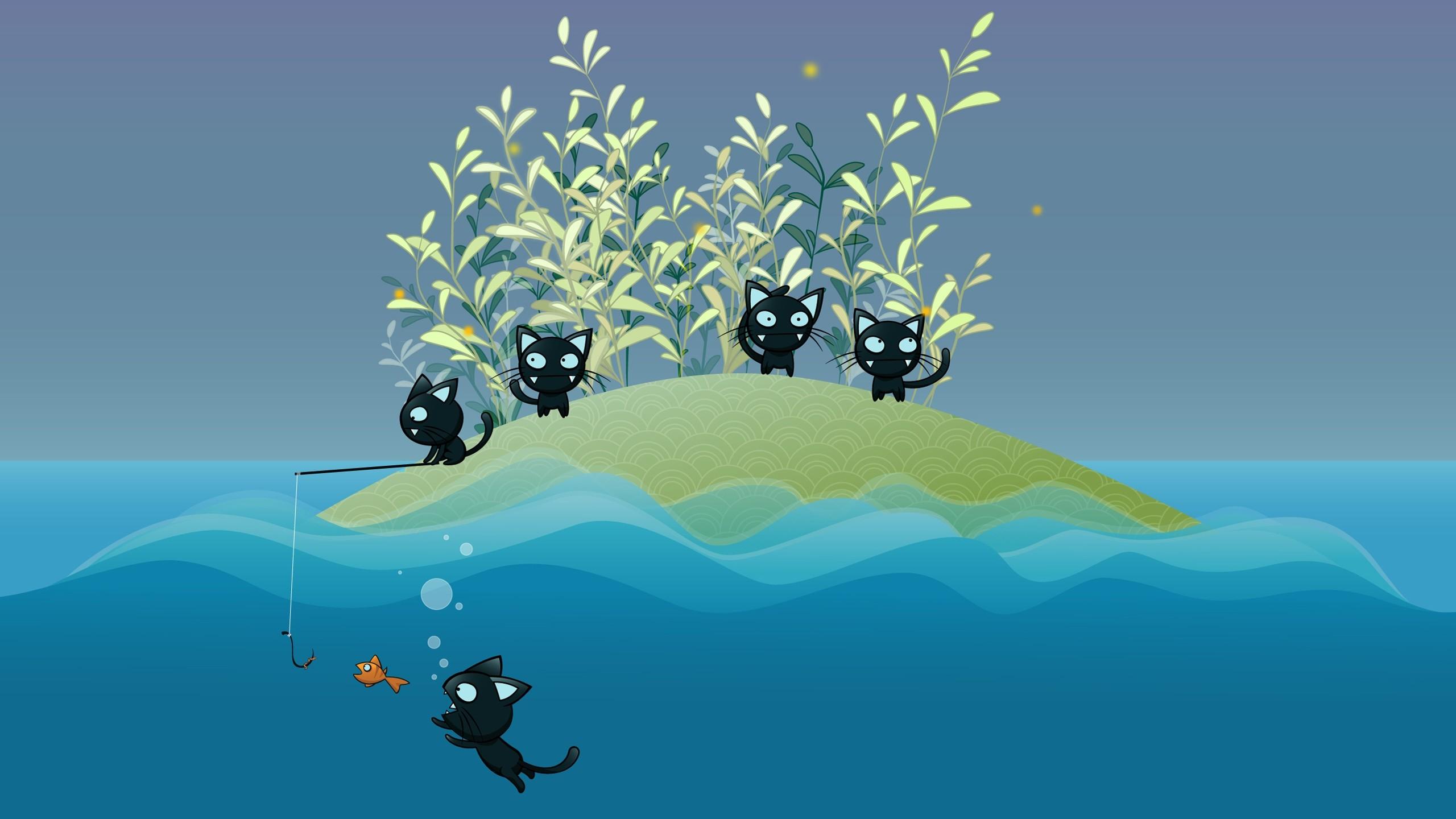 wallpaper.wiki-Cartoon-Cat-Image-HD-PIC-WPE0010020