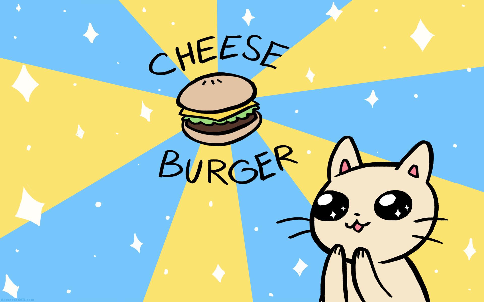 Cheeseburger Sparkle Wallpaper 16×10 …
