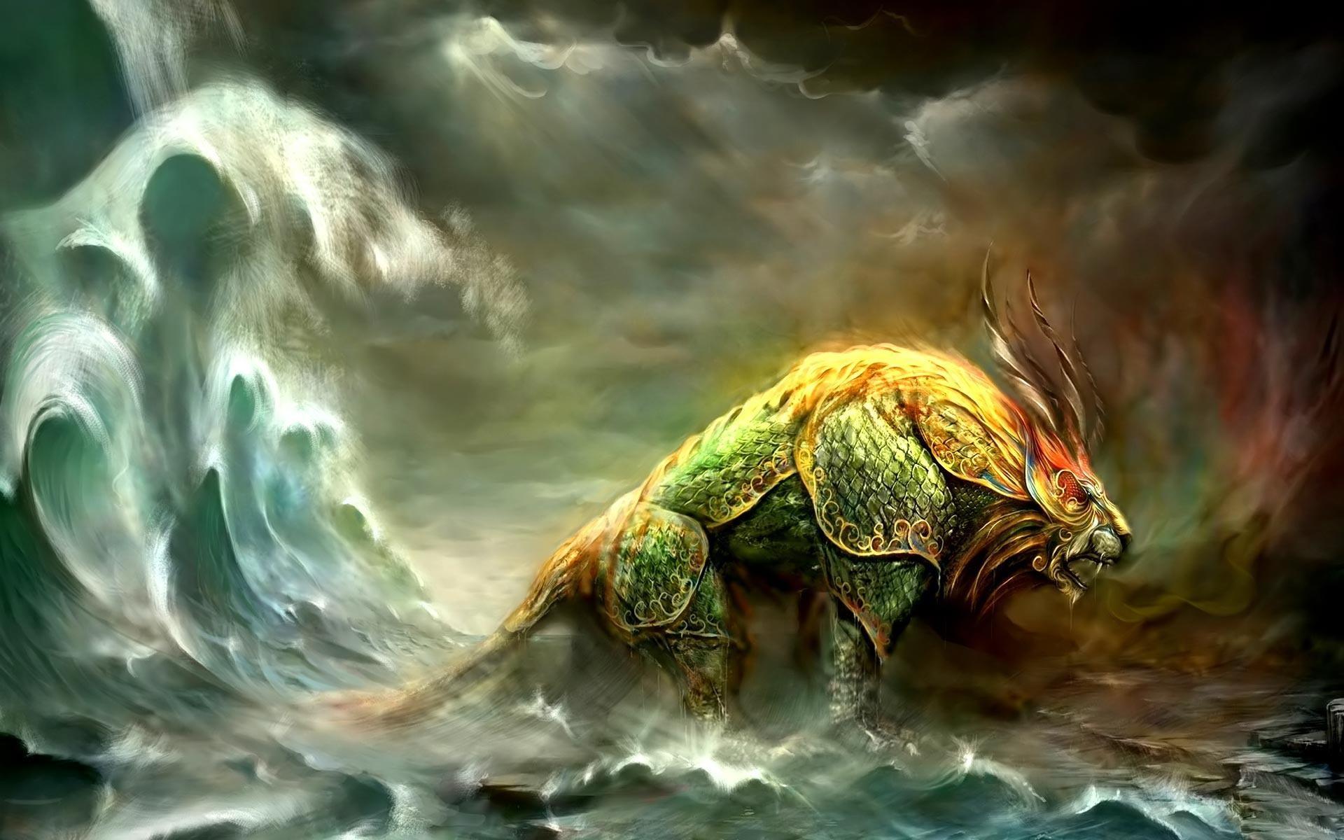 Rasta Lion Desktop Wallpaper