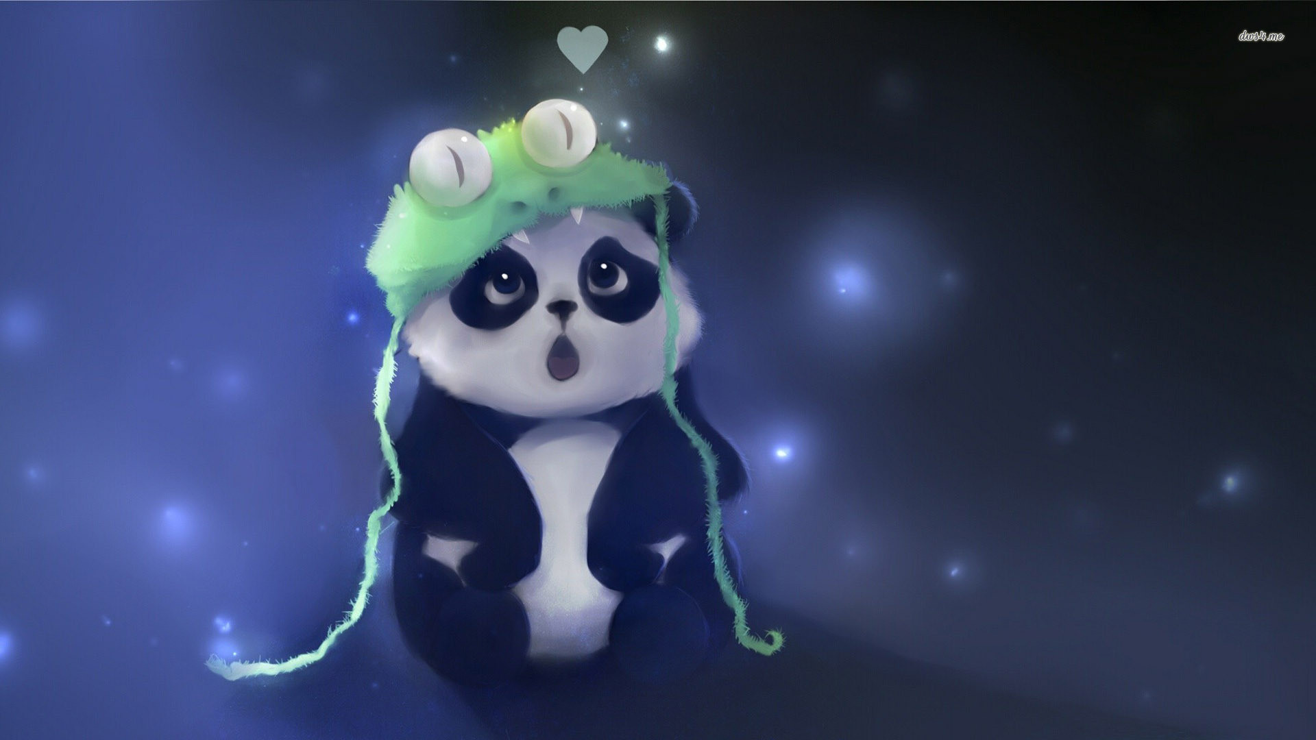 Cute Panda fond ecran hd