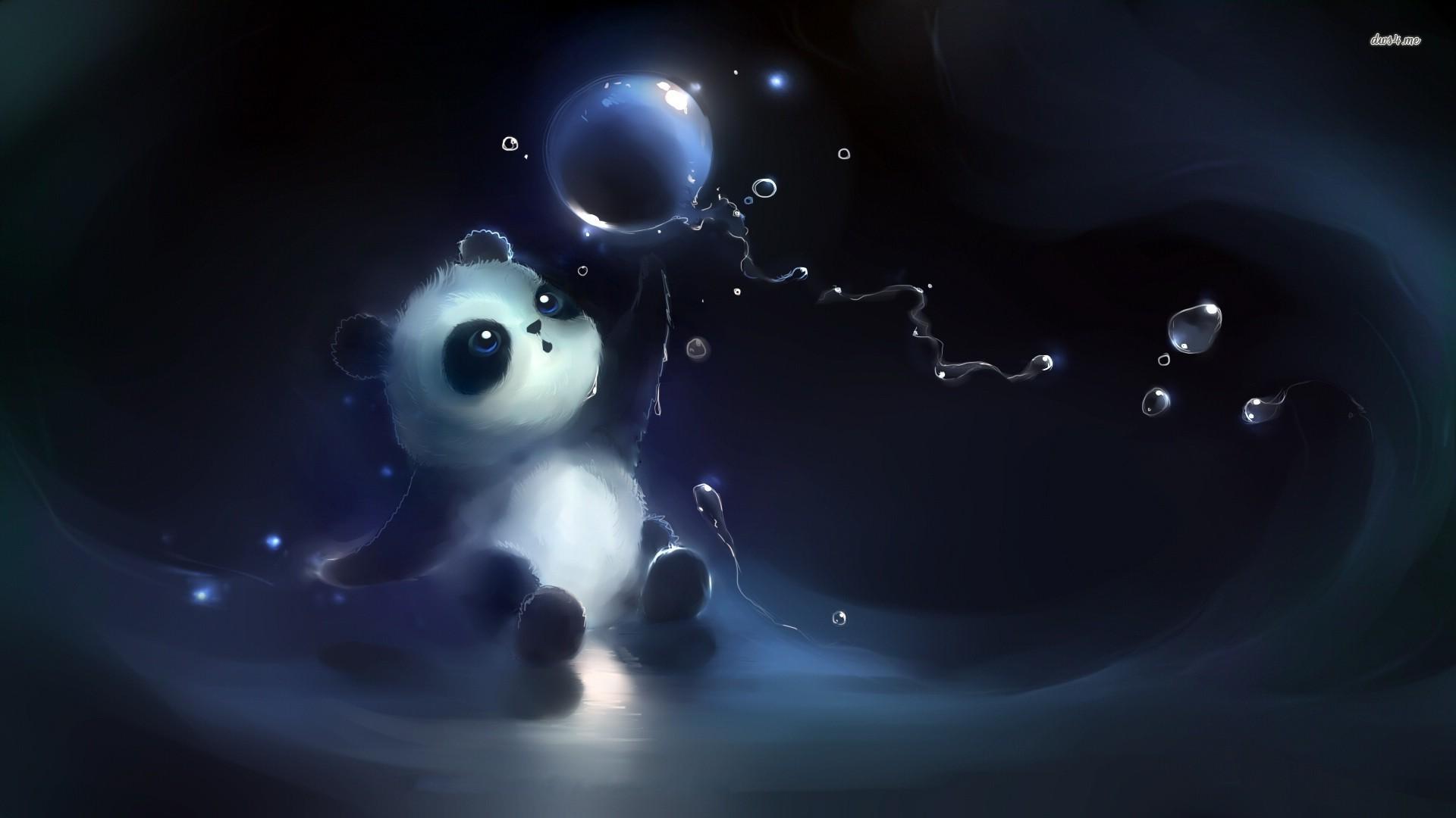 Cute Panda wallpaper     #46003
