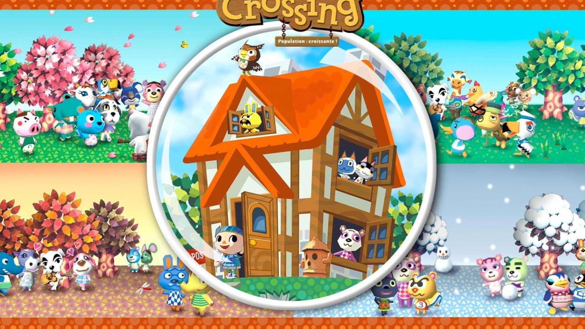 Nintendo gamecube animal crossing wallpaper | (35030)