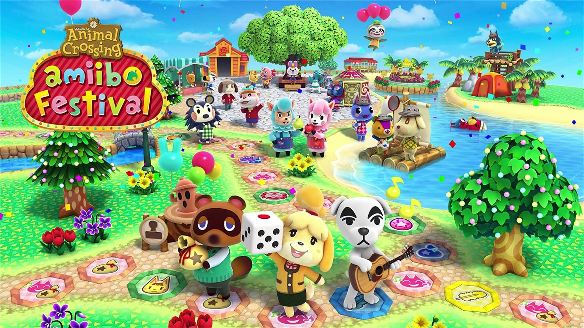 Video Game – Animal Crossing: Amiibo Festival Wallpaper