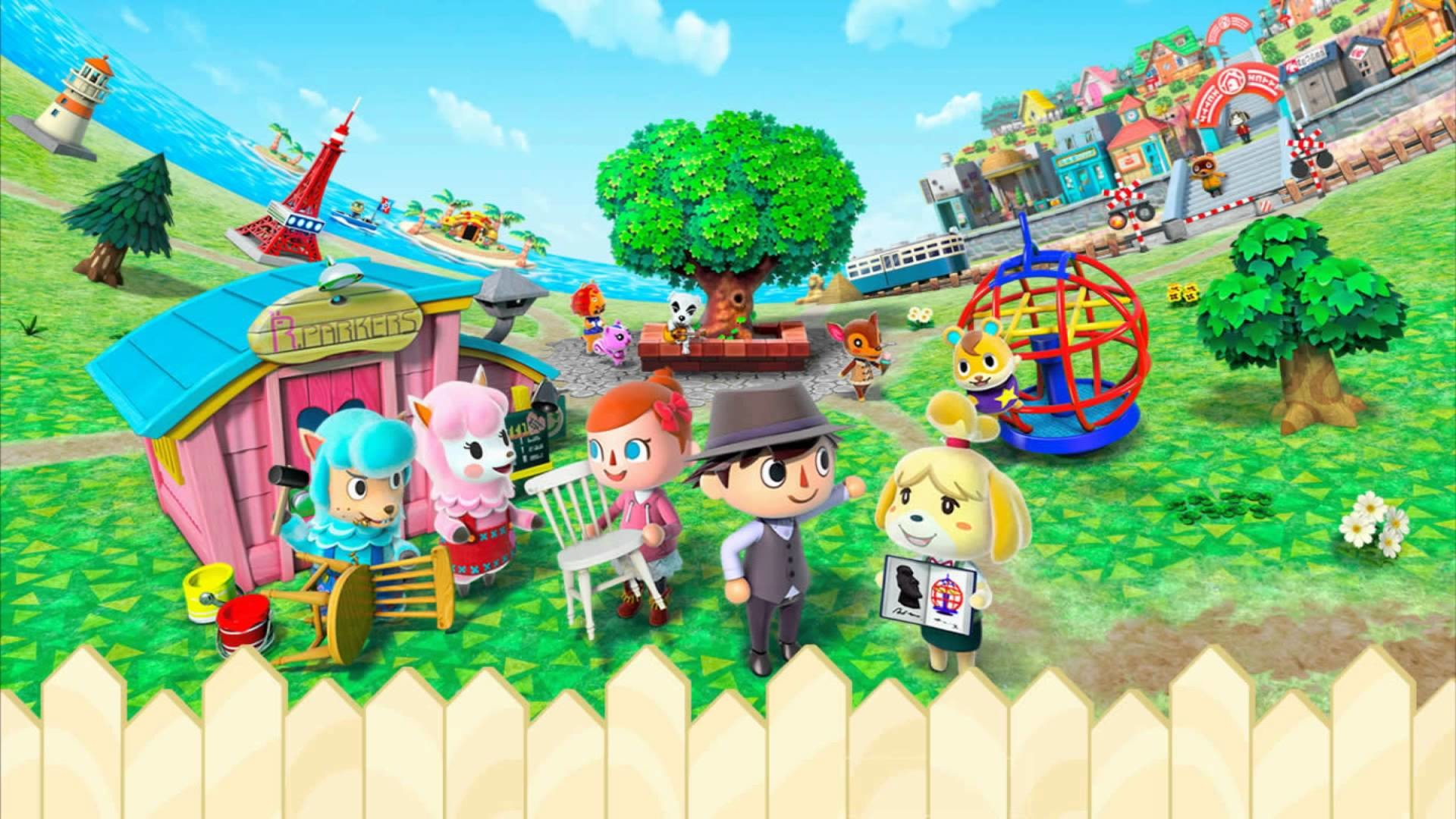 Video Game – Animal Crossing: New Leaf Wallpaper
