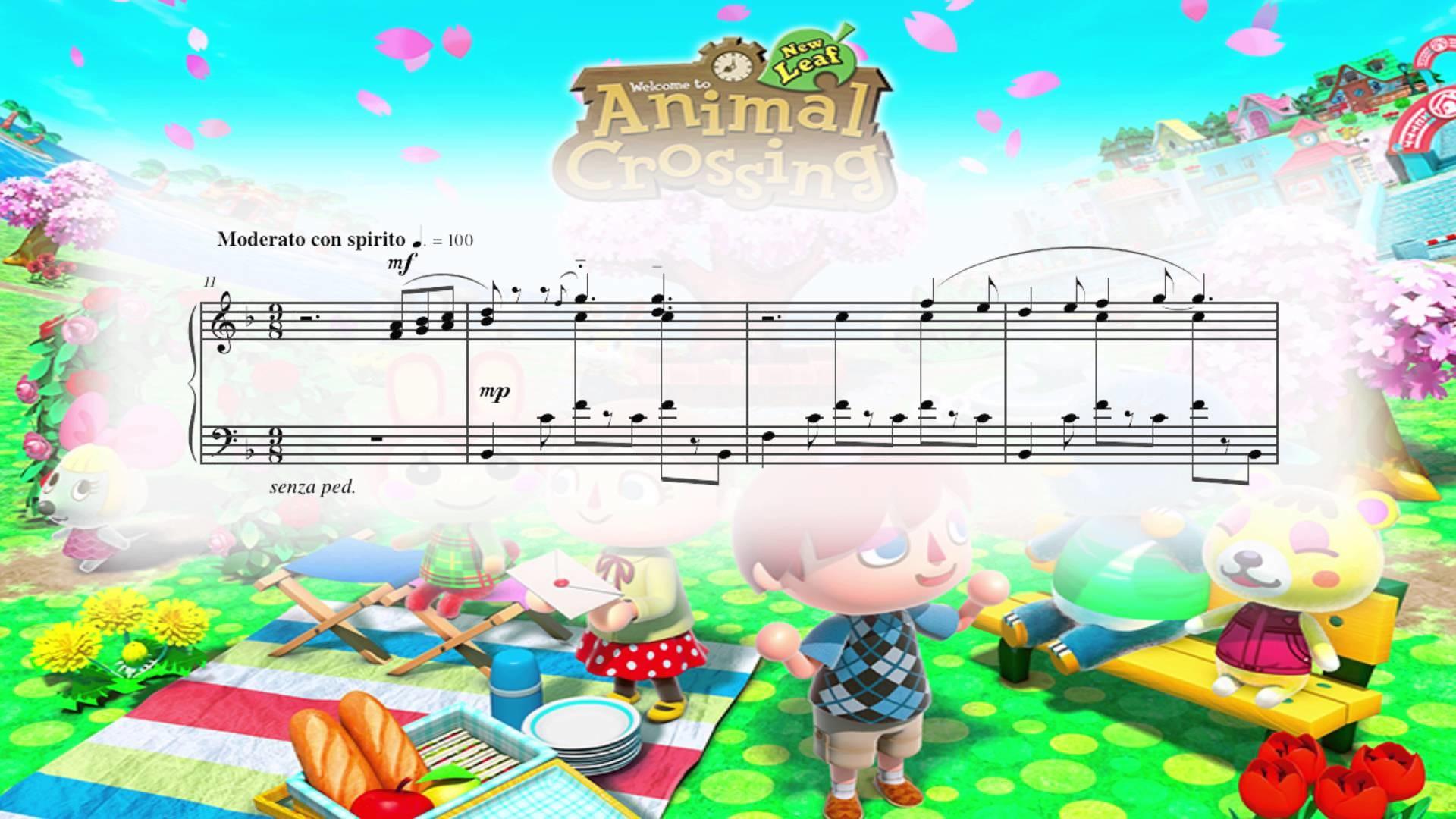Animal Crossing: New Leaf – Main Theme (Piano Sheet Music)