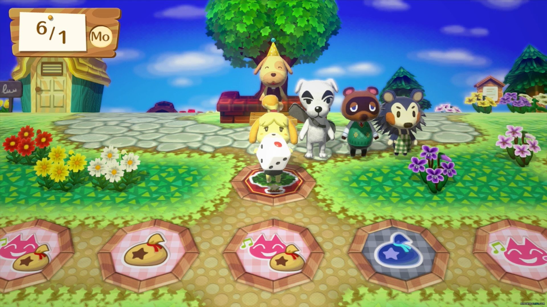 This Festival is played in a classic Animal Crossing town with a  traditional board game look. The town looks great on Wii U and shows us how  a true Animal …